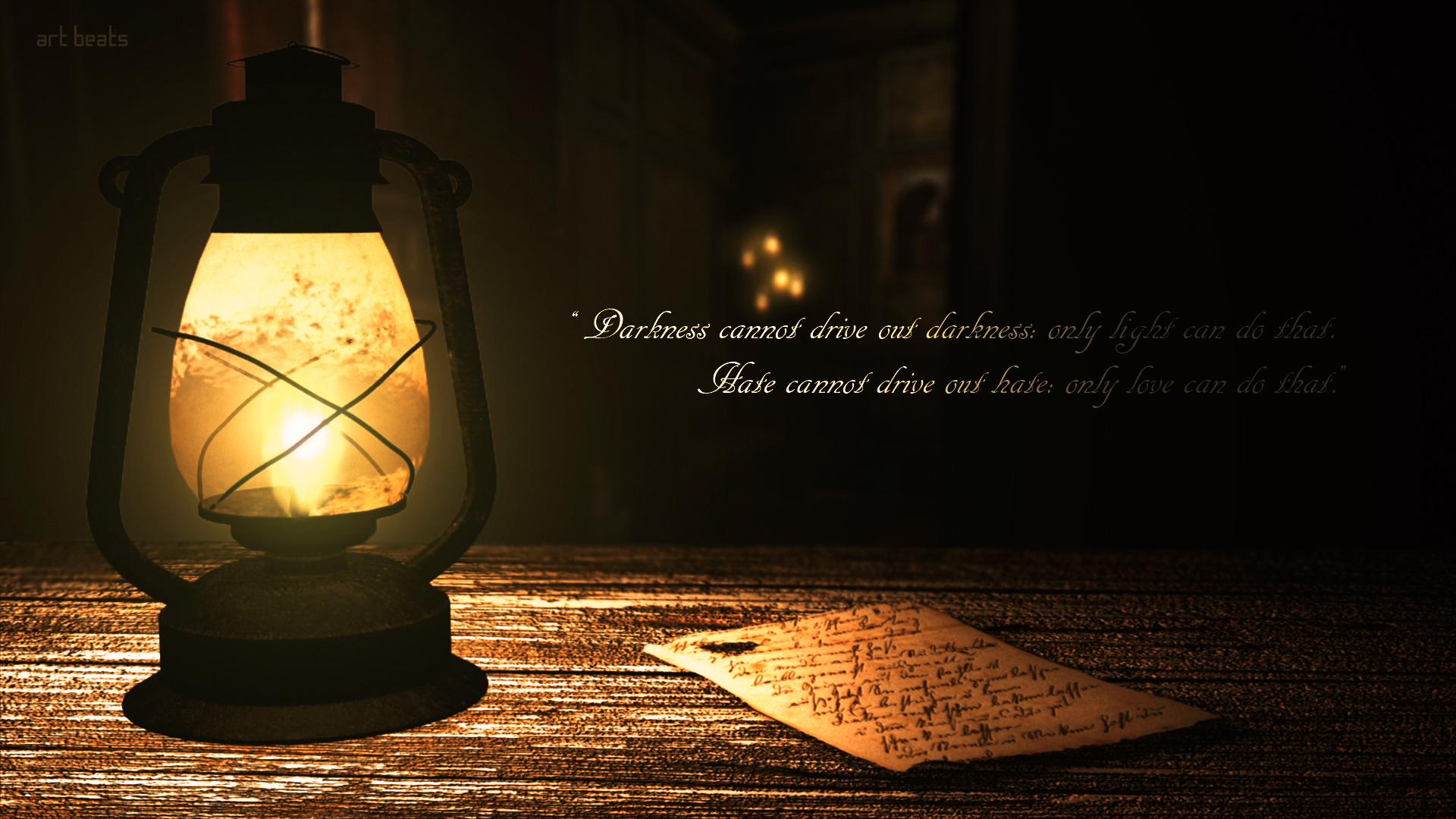 Lamp Wallpaper