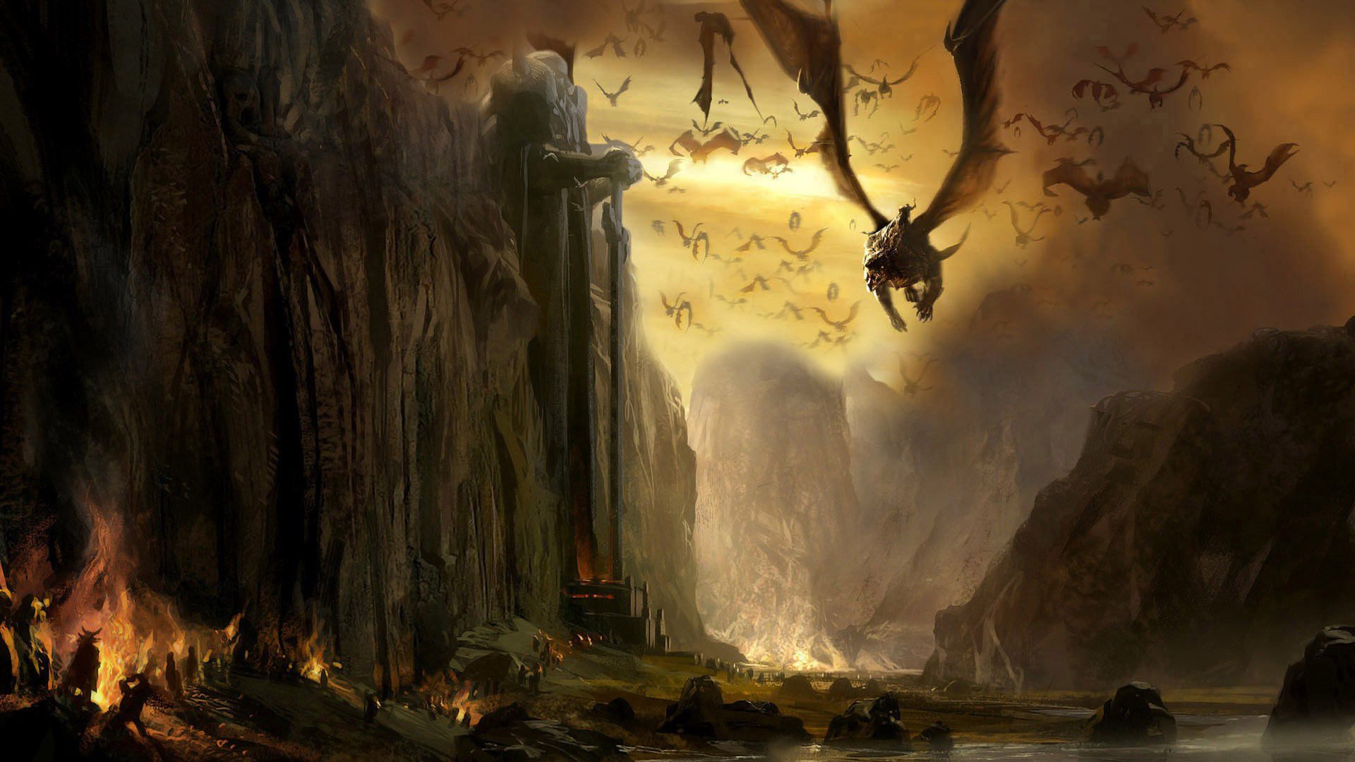 Land of dragons art