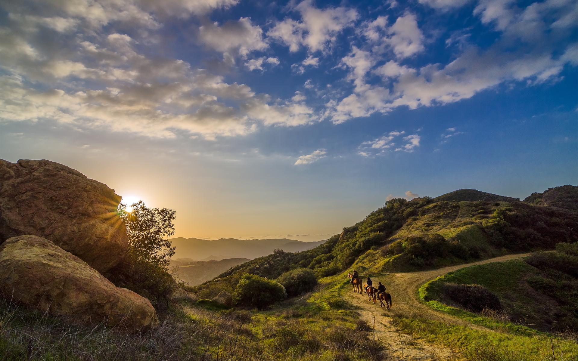 Landscape cowboys topanga