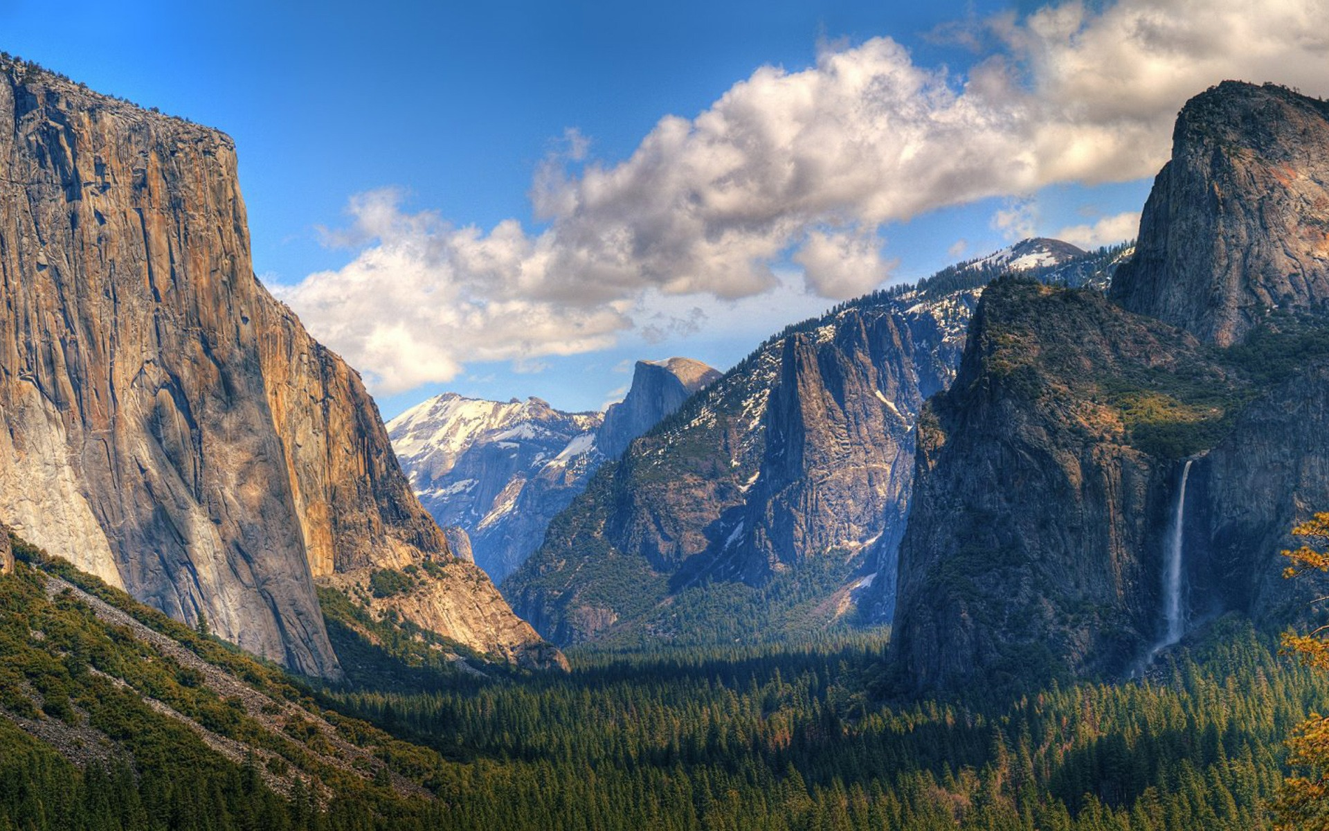 Yosemite Valley Landscape Nature Wallpaper #95123 - Resolution 1920x1200 px