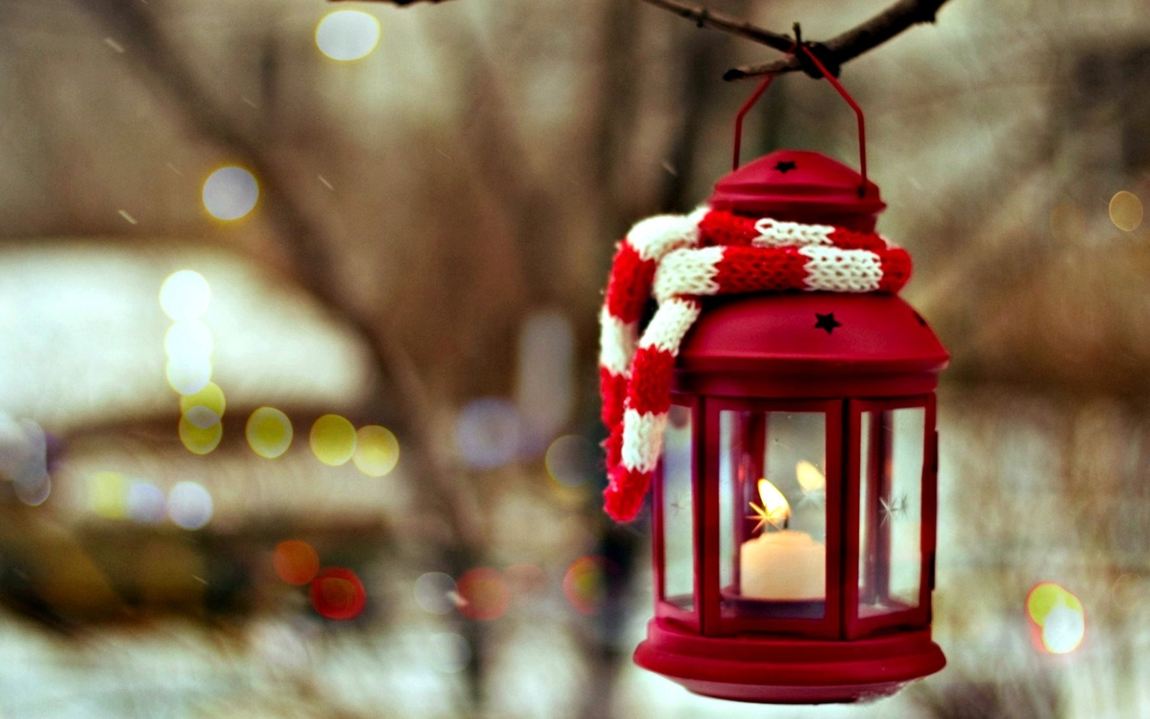 Lantern Candle Winter