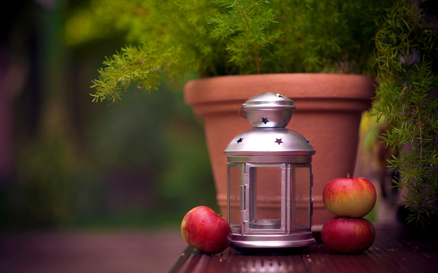 Lantern Ikea Vase Plant Apples