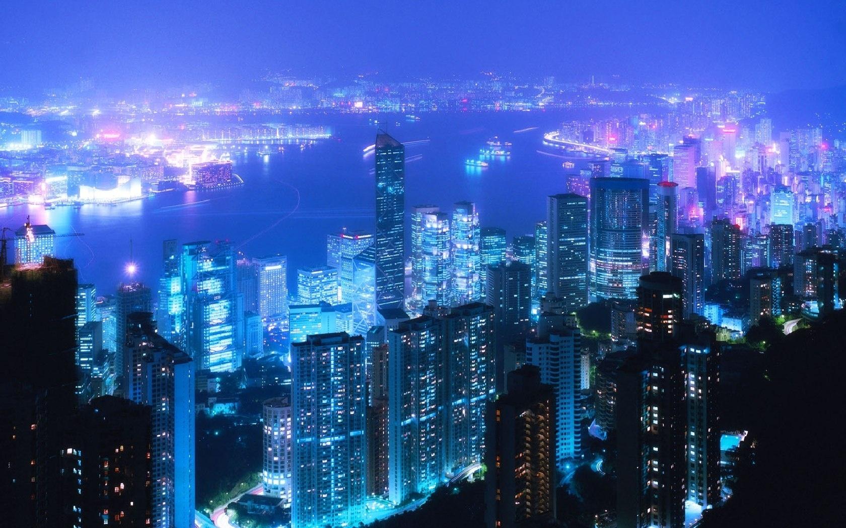 City Night Tokyo Lanterns Sky Homes wallpaper #56853