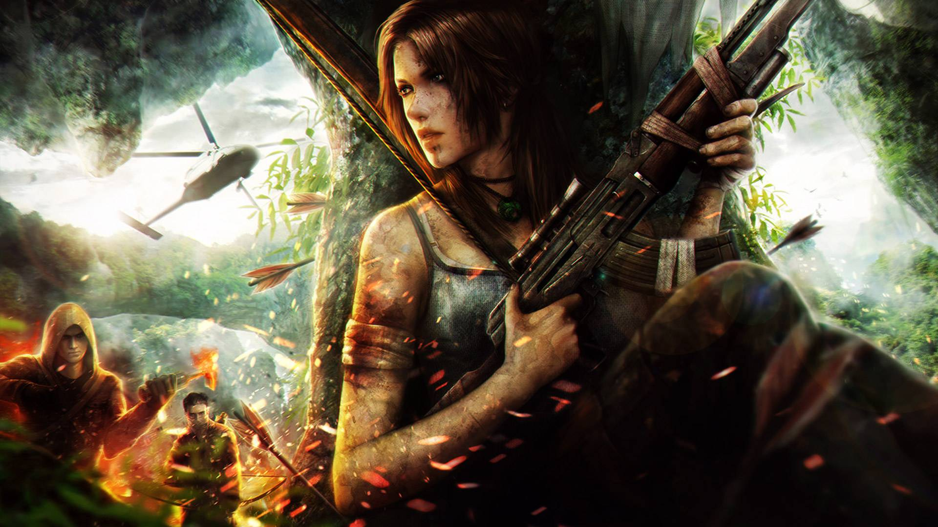 Report this Image? favorite it? enlarge^ 1920x1080 518036 KB. Tomb Raider Fan art 3