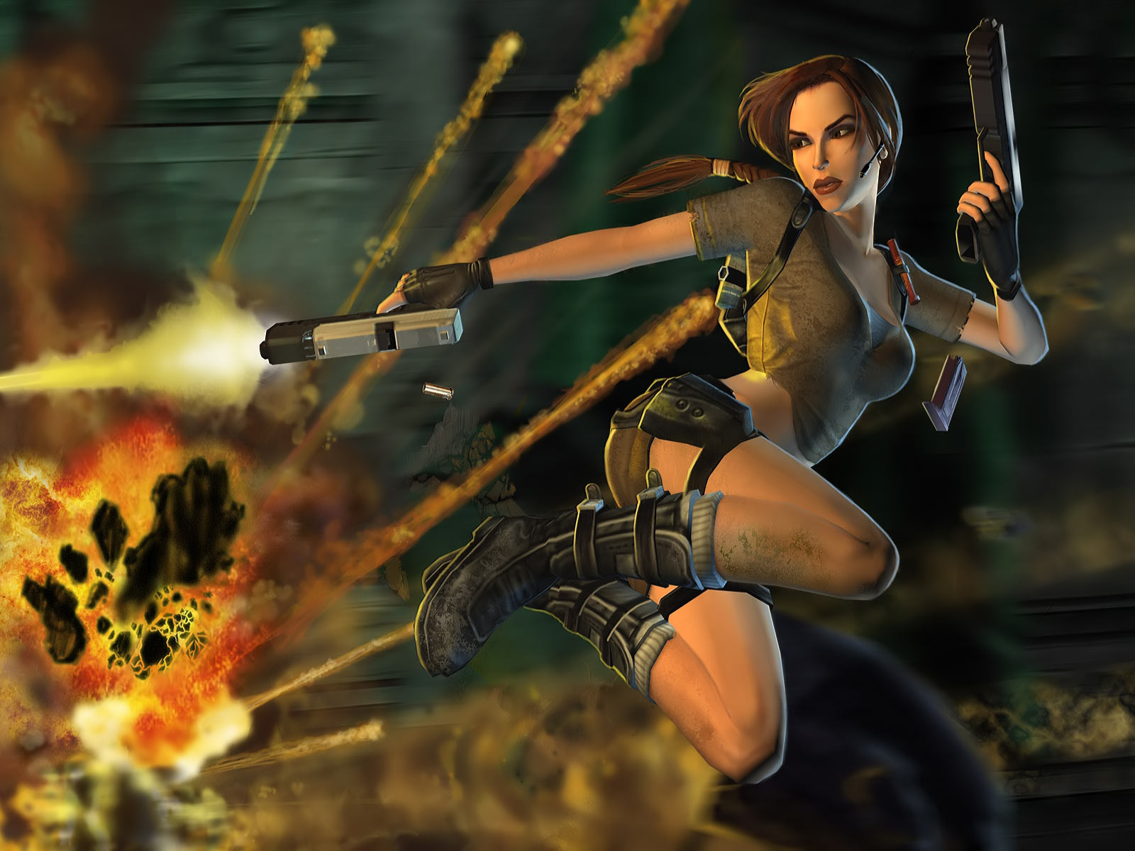 Lara Croft Tomb Raider Game Wallpaper 1600x1200 9415