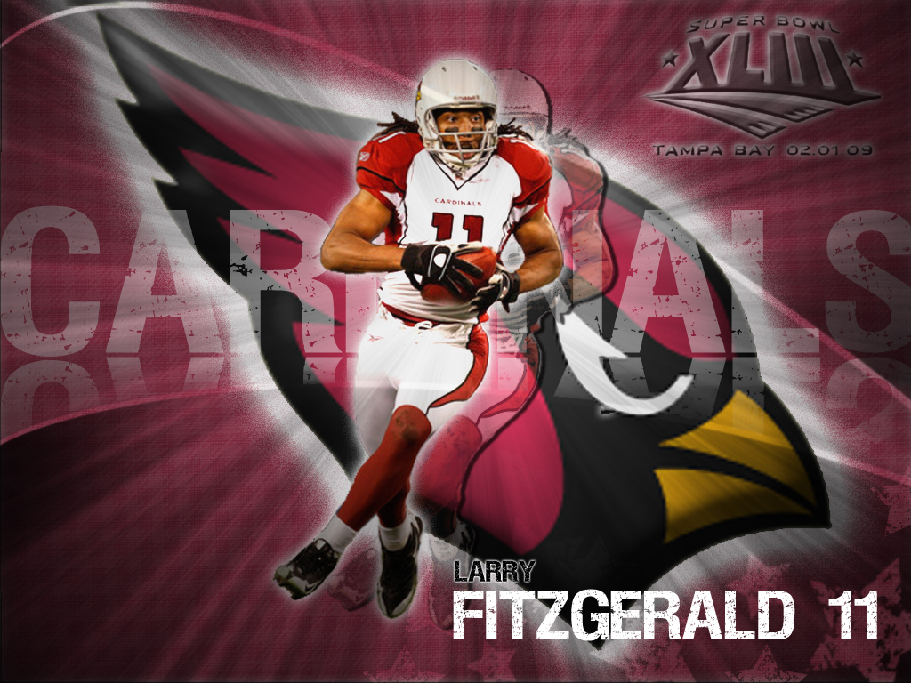 Larry Fitzgerald Wallpaper – 1024 x 768 pixels – 609 kB