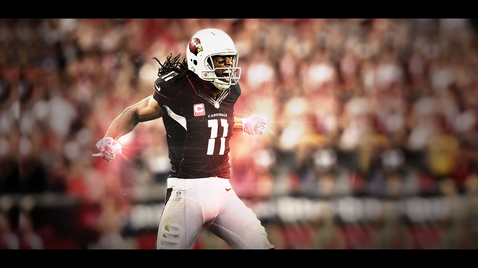 art background larry fitzgerald