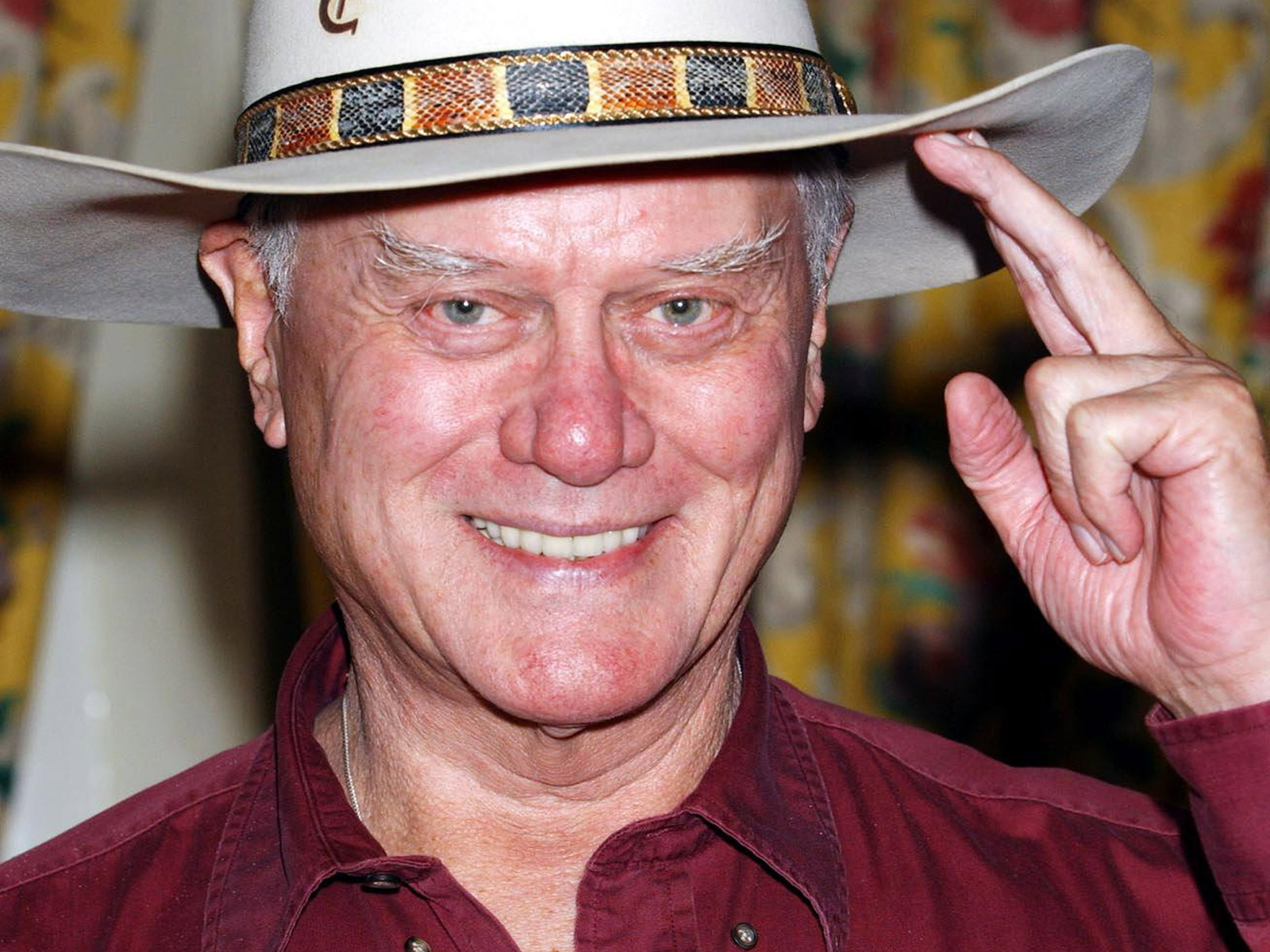 Free Larry Hagman, computer desktop wallpapers, pictures, images