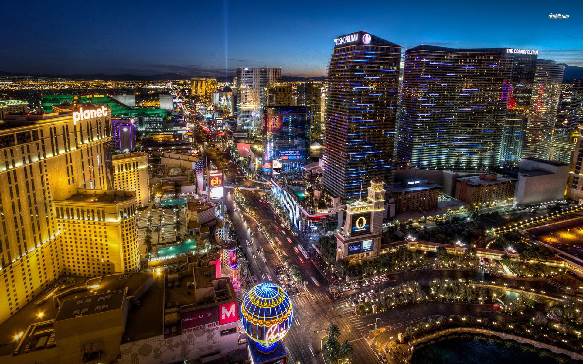 Las Vegas Strip Wallpaper World