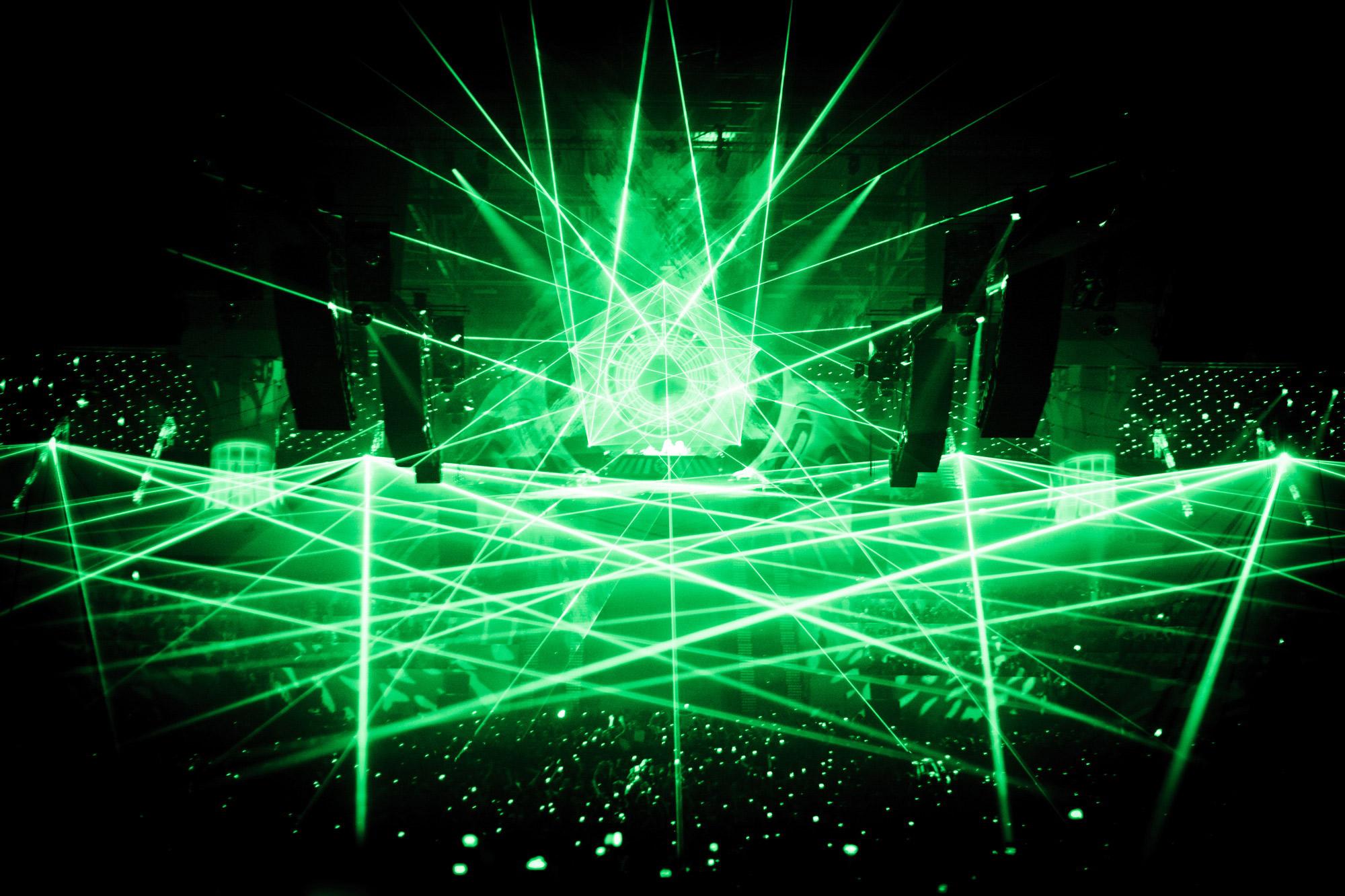 Laser Wallpaper 9389