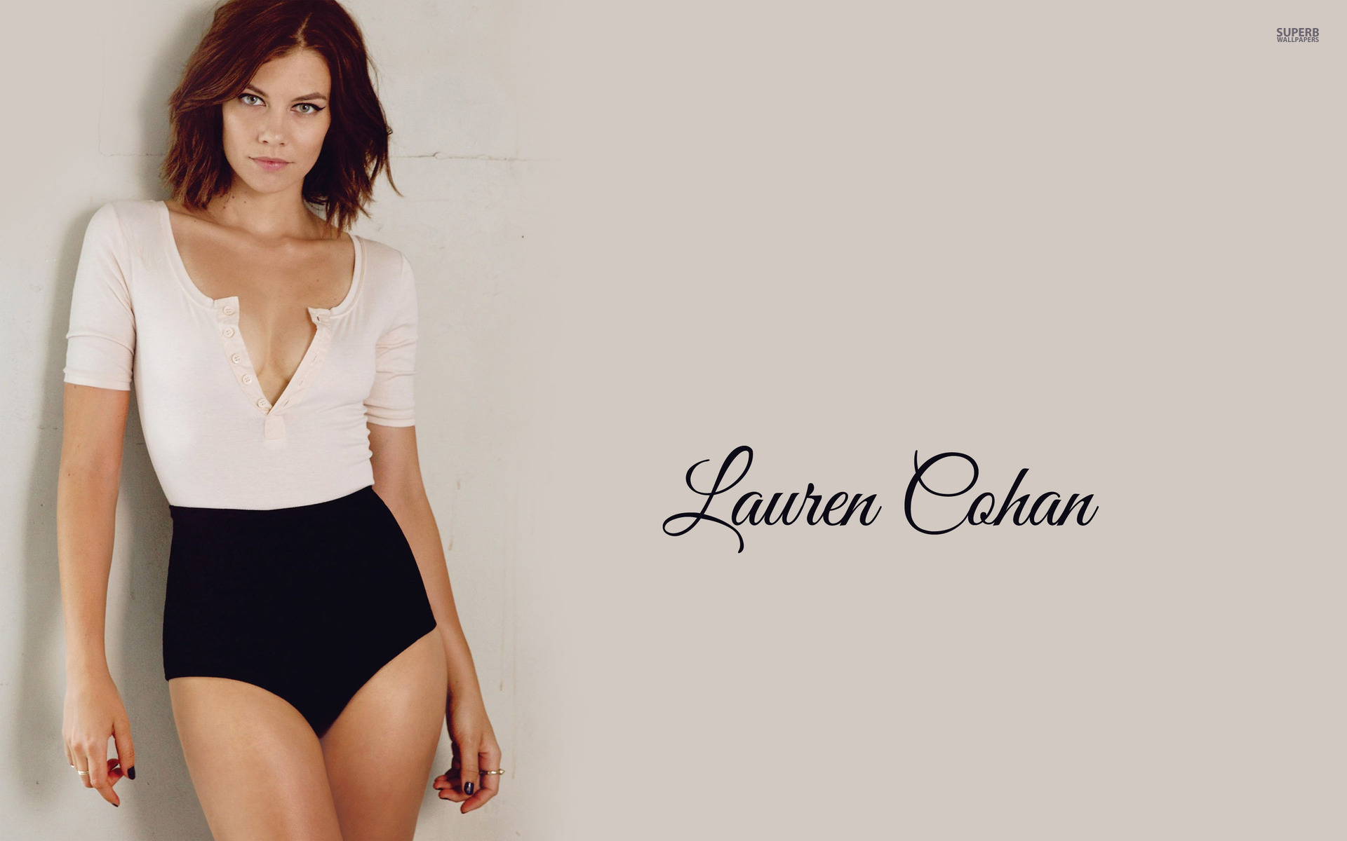 Lauren Cohan wallpaper 1920x1200