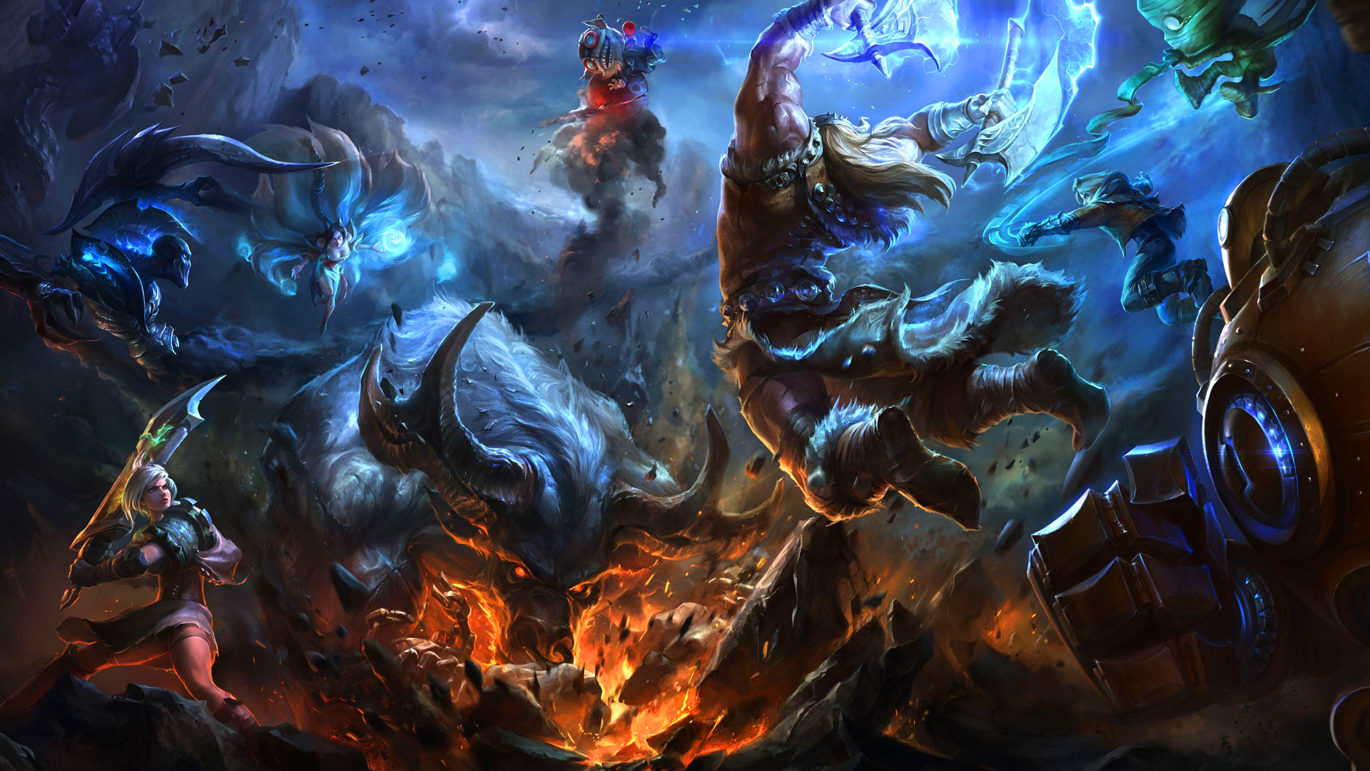 League of legends champions art