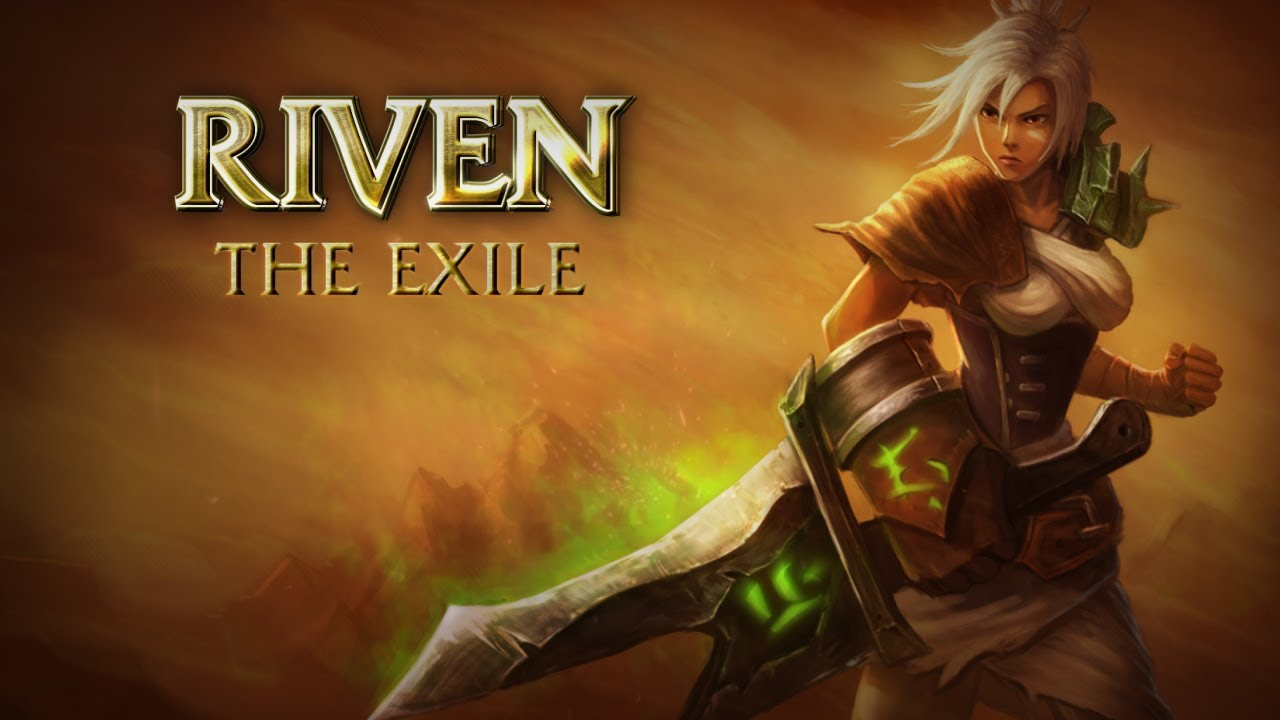Riven Champion Spotlight. League of Legends