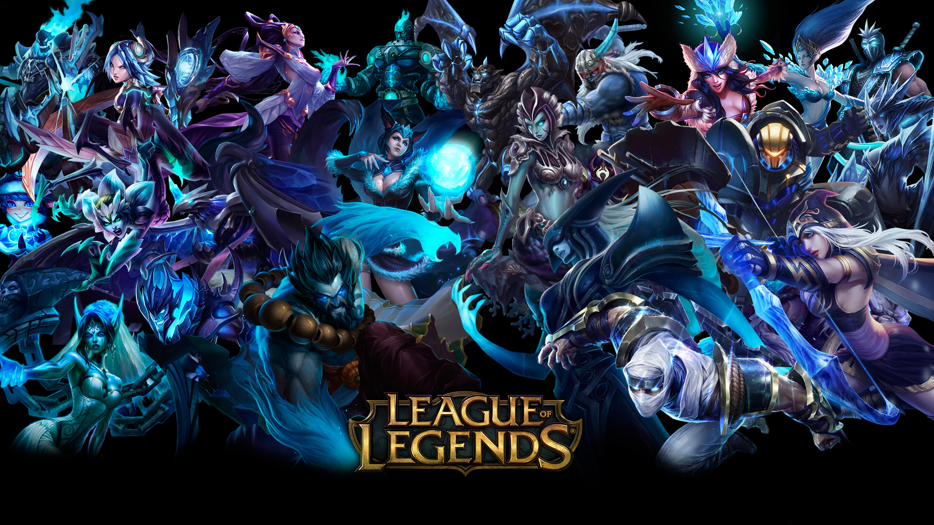 League of Legends Champions HD Wallpaper Rikkutenjouss