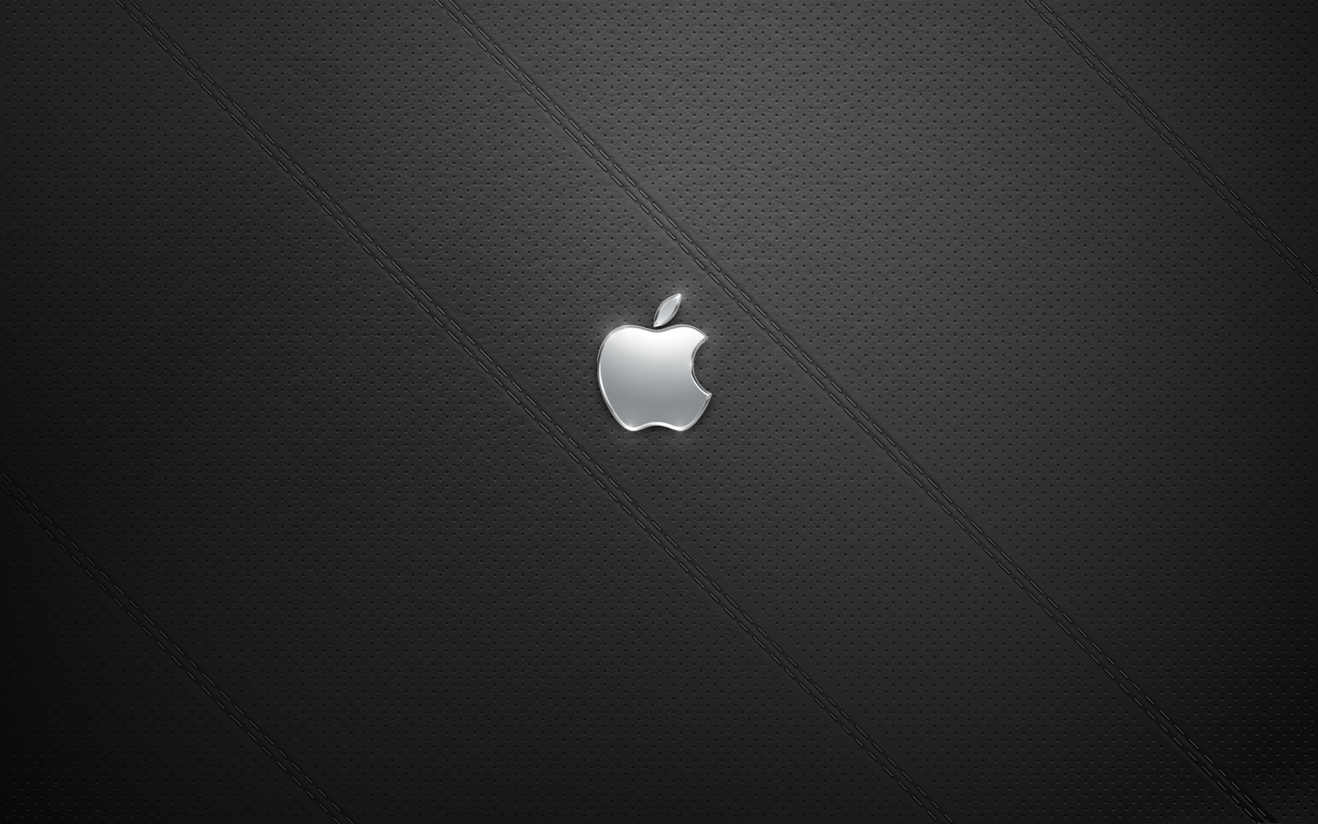 Leather Apple Logo Wallpaper