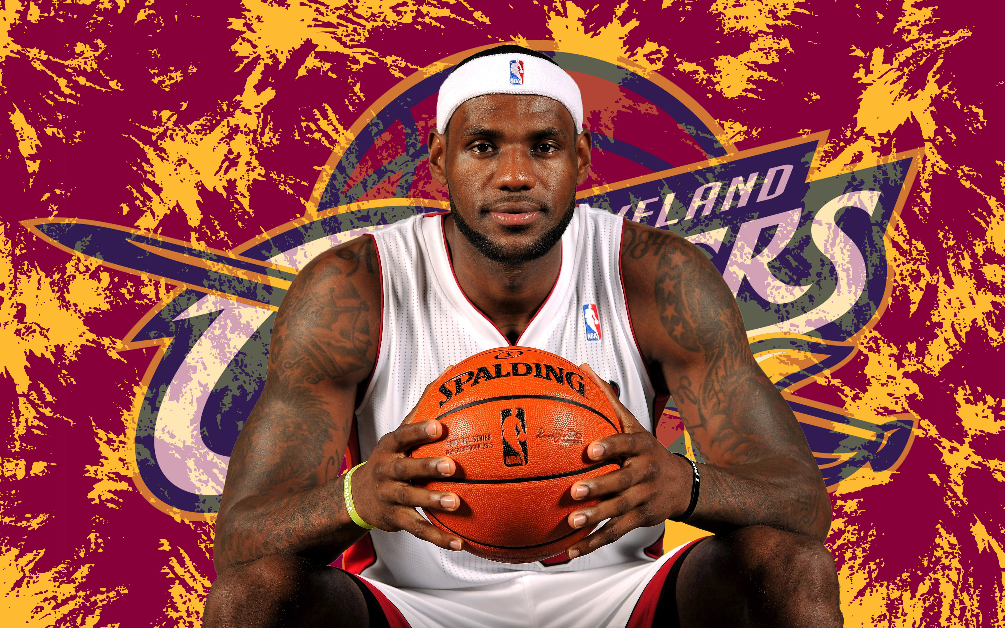 LeBron James 2014 Cleveland Cavaliers Wallpaper