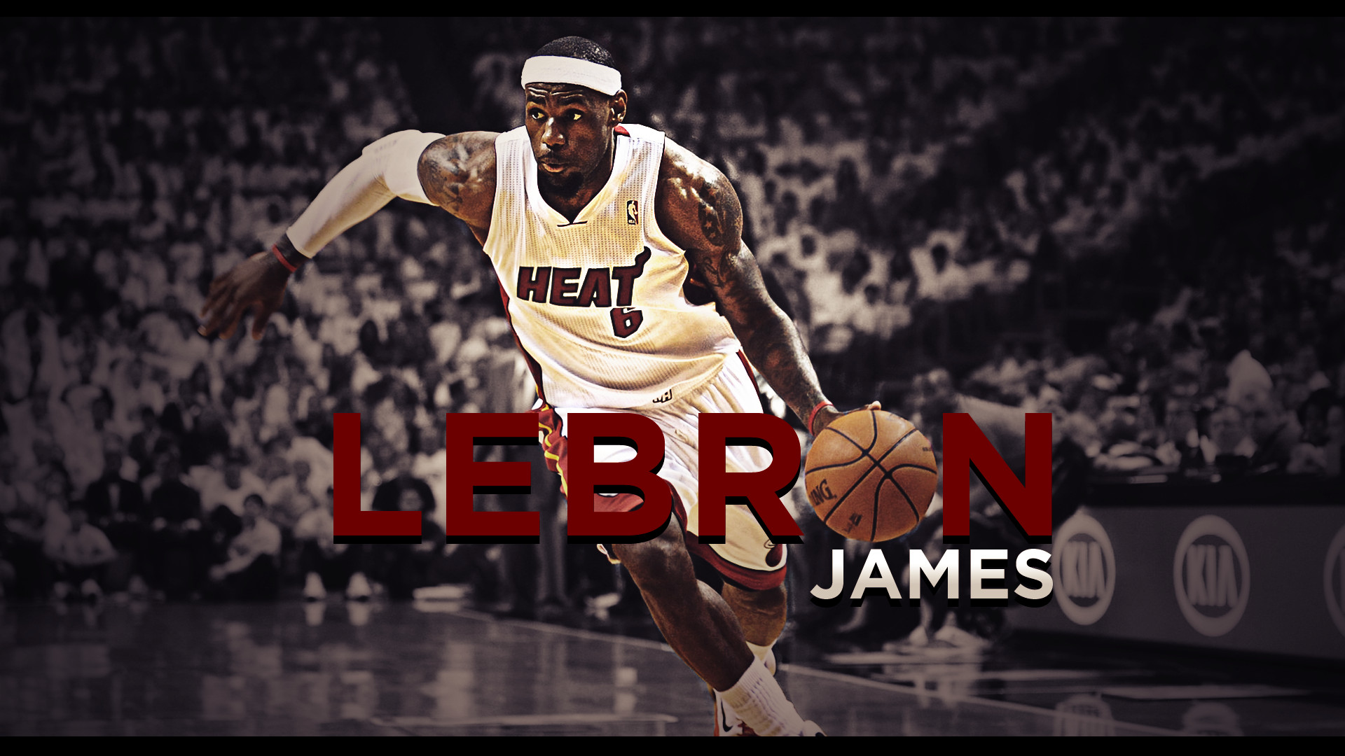 Lebron James Wallpaper Miami Heat 1920x1080