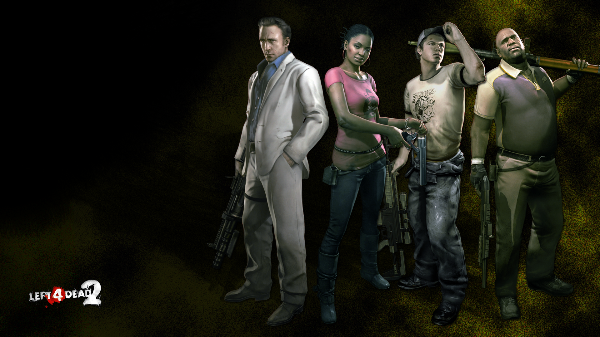 Left 4 Dead 2 RE6 Styled Wallpaper by Glench