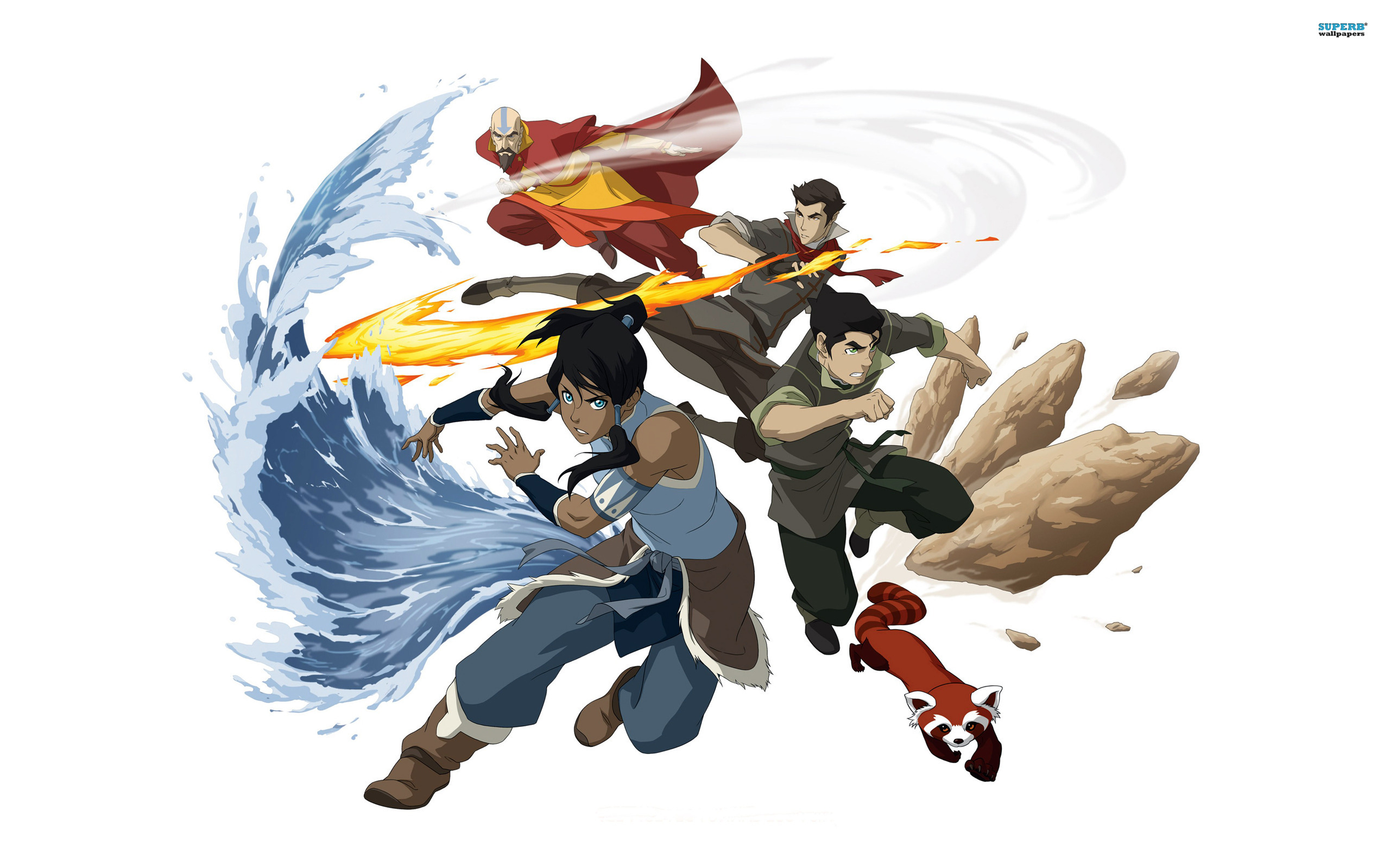 Avatar: The Legend of Korra wallpaper 2560x1600 jpg