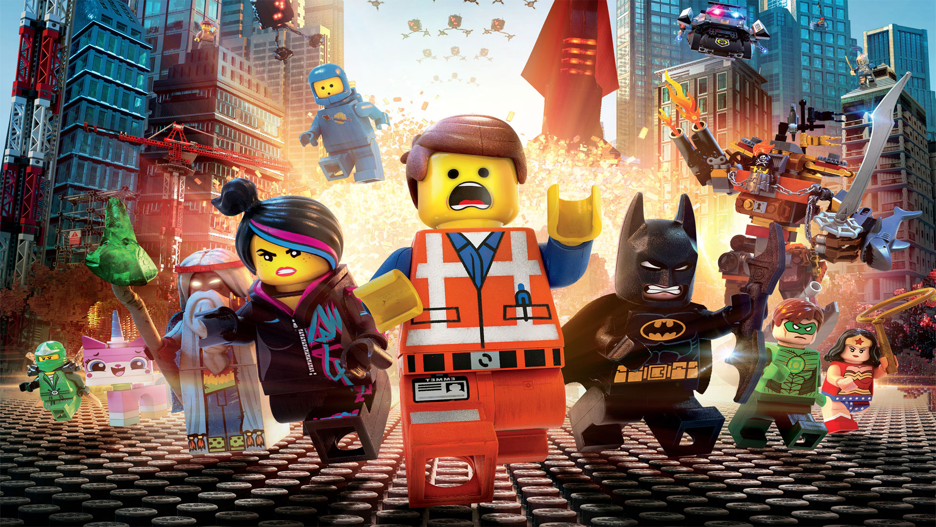 Lego Movie Wallpaper