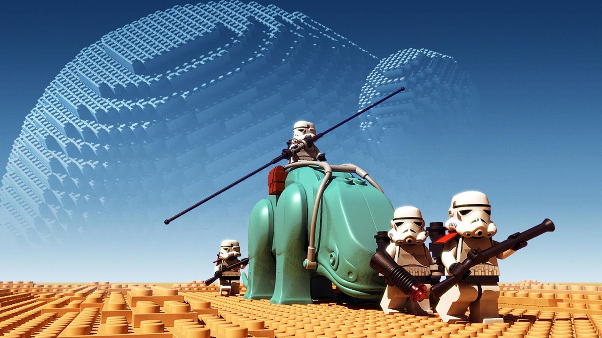 Cool Lego Star Wars in desert Lego Wallpaper HD 430 Backgrounds For Dekstop, this wallpaper you can use as the background/wallpaper of computer dekstop, ...