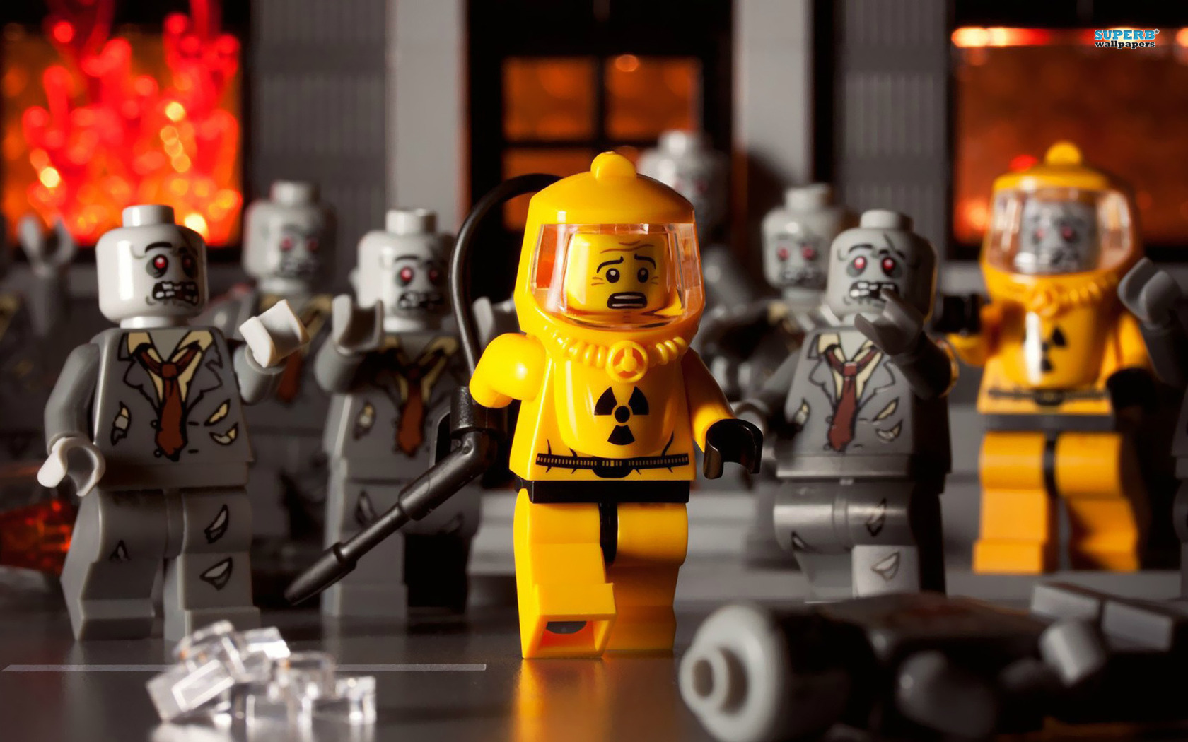 Lego Wallpaper Zombies HD Wallpaper 8175