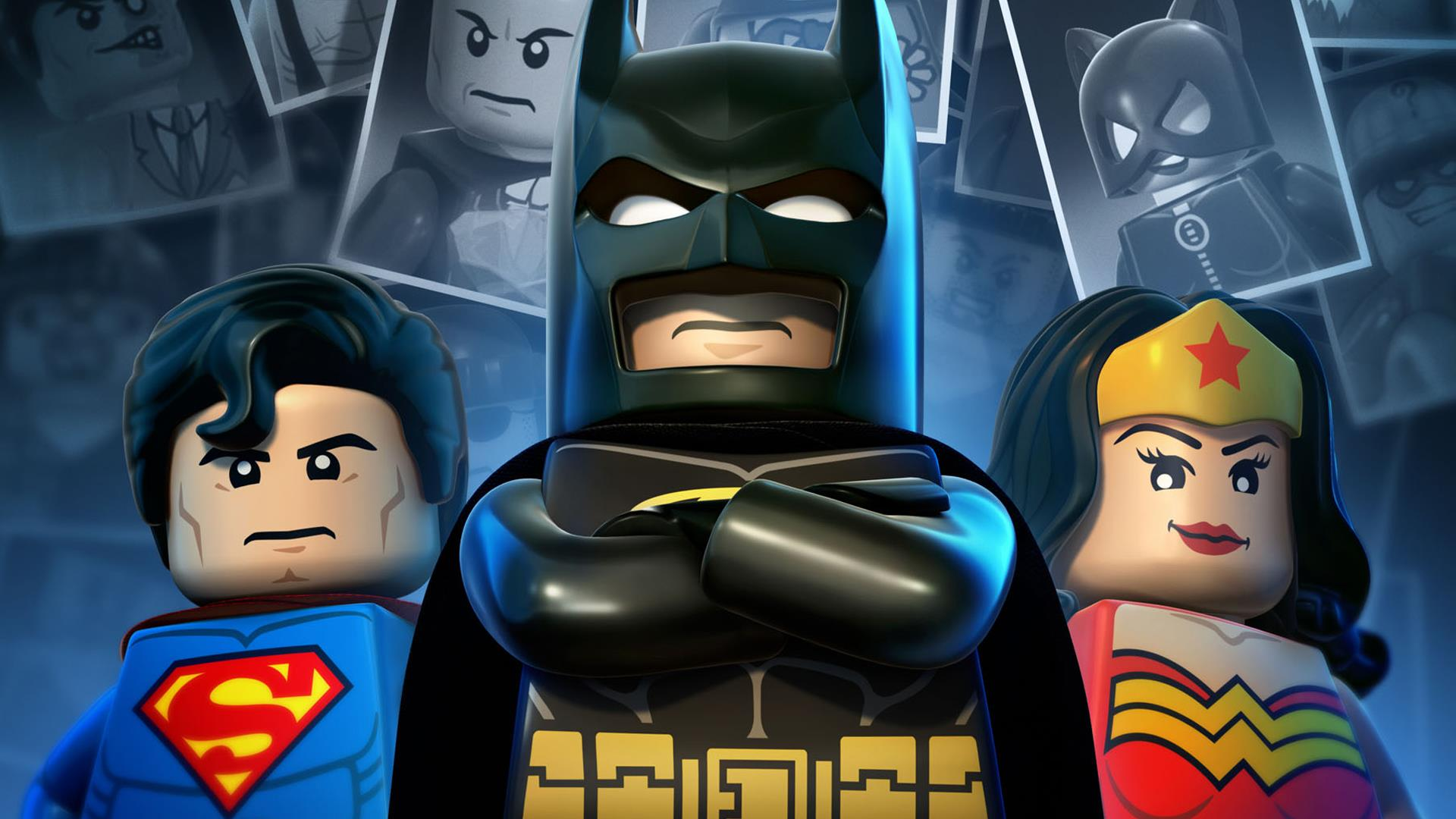 Superheroes Lego Wallpaper