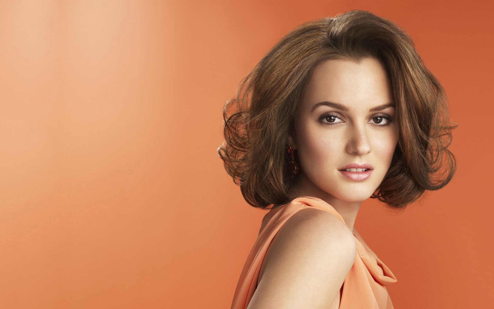 Leighton Meester Portrait Actress Singer Girl