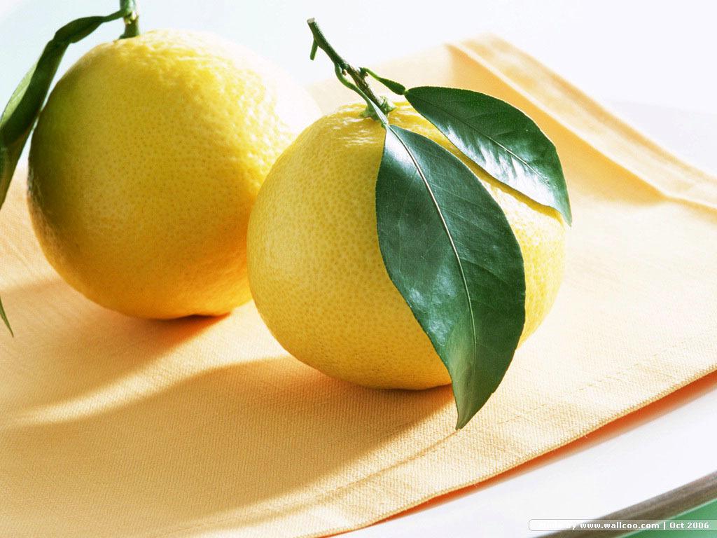 Fruit Lemon Wallpaper