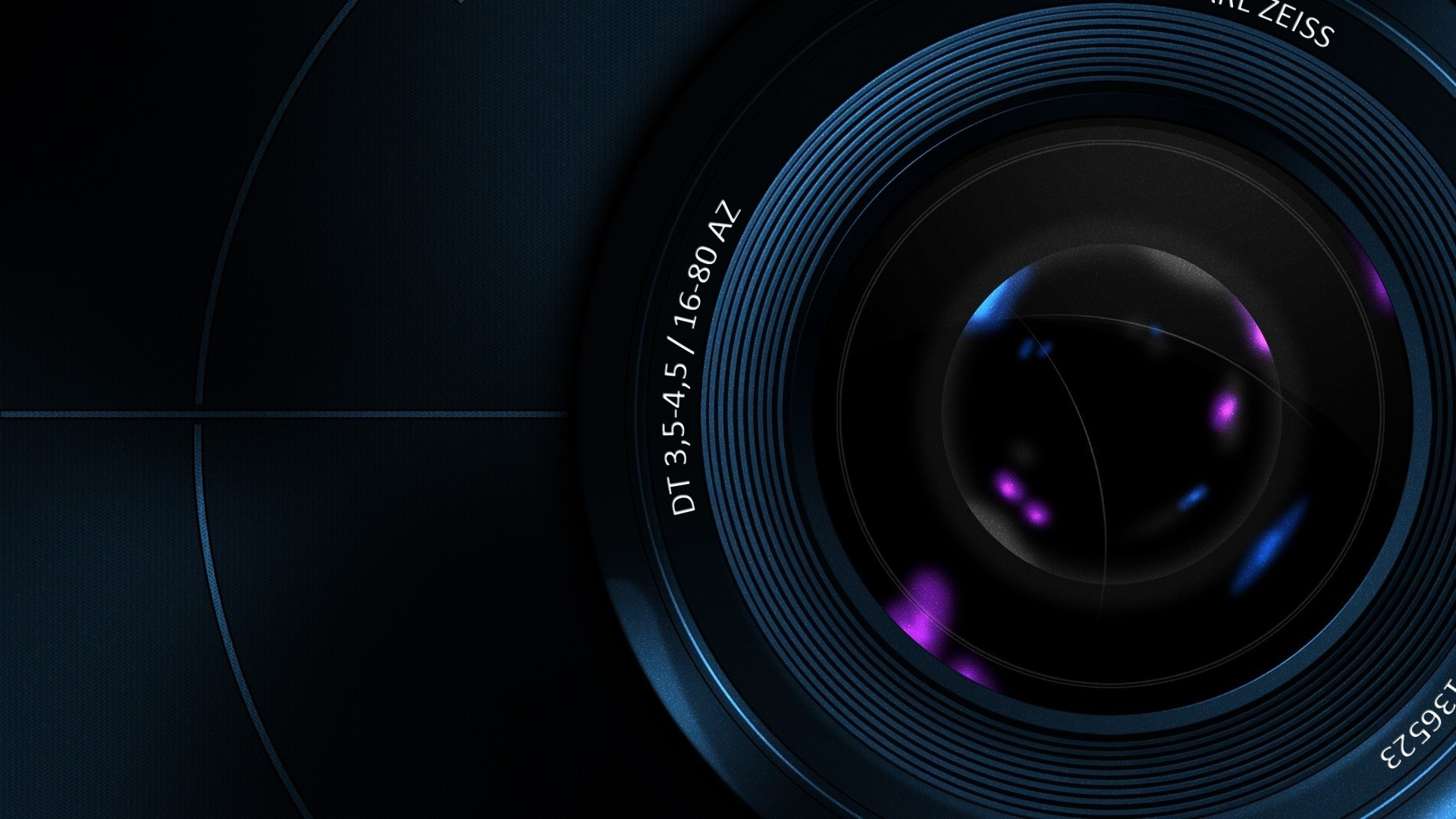 Camera Lens Abstract Wallpaper