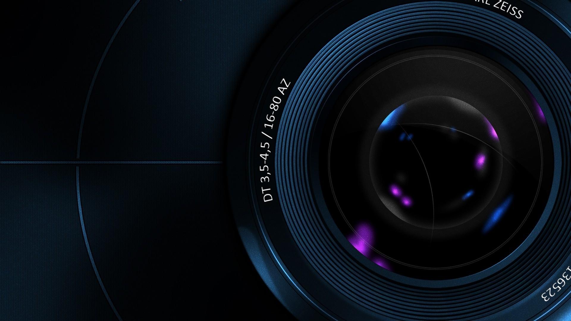 Camera Lens Abstract Wallpaper