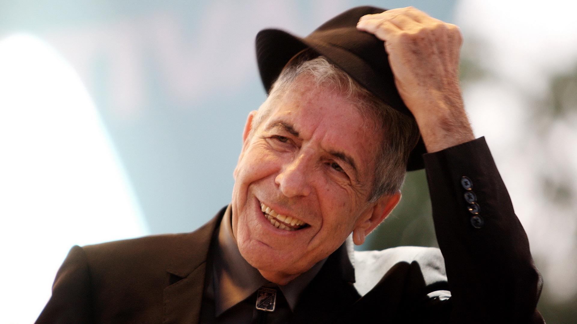 Leonard Cohen backdrop wallpaper