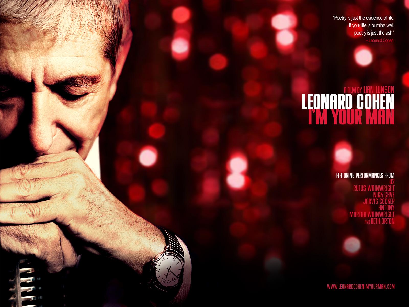 Leonard Cohen in Leonard Cohen: Im Your Man