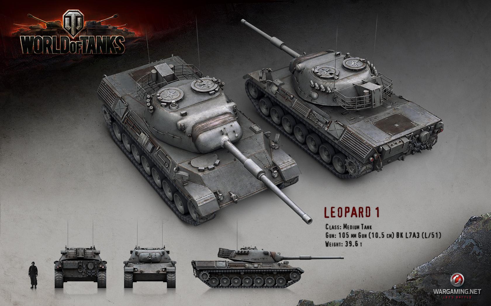Leopard 1 wot