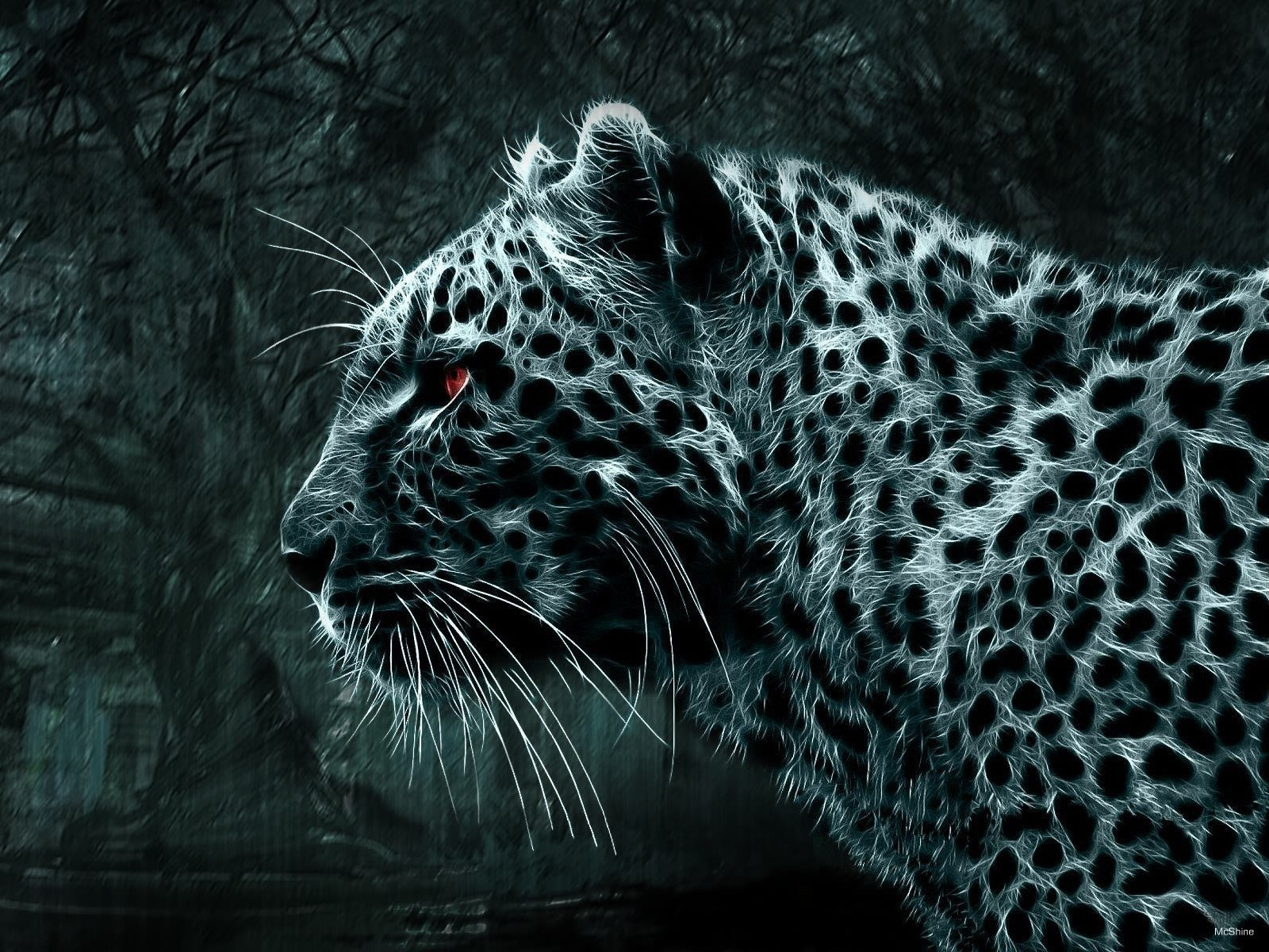 Leopard artwork