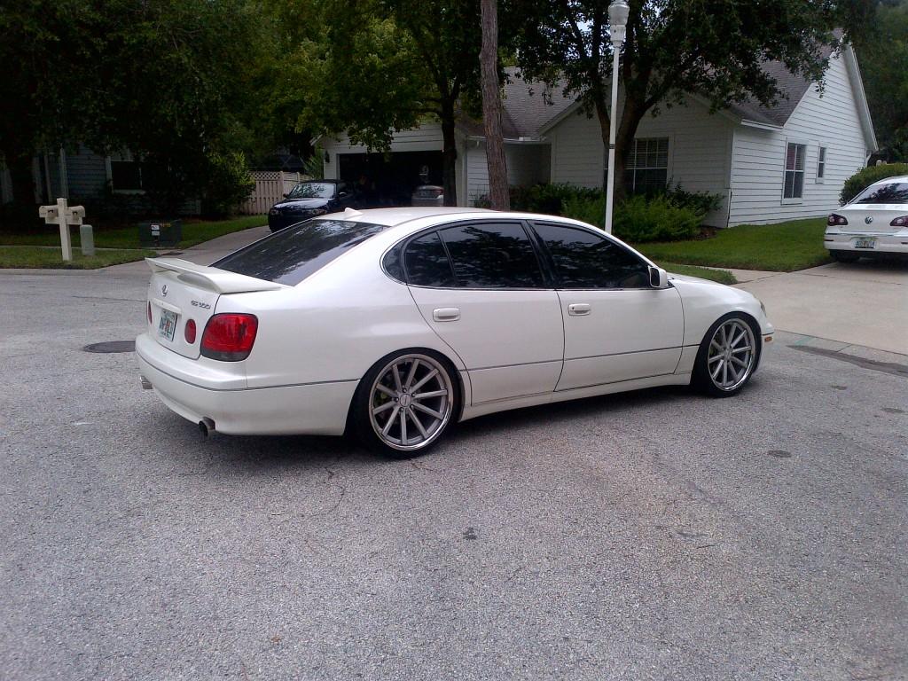 Lexus GS 300 white #10