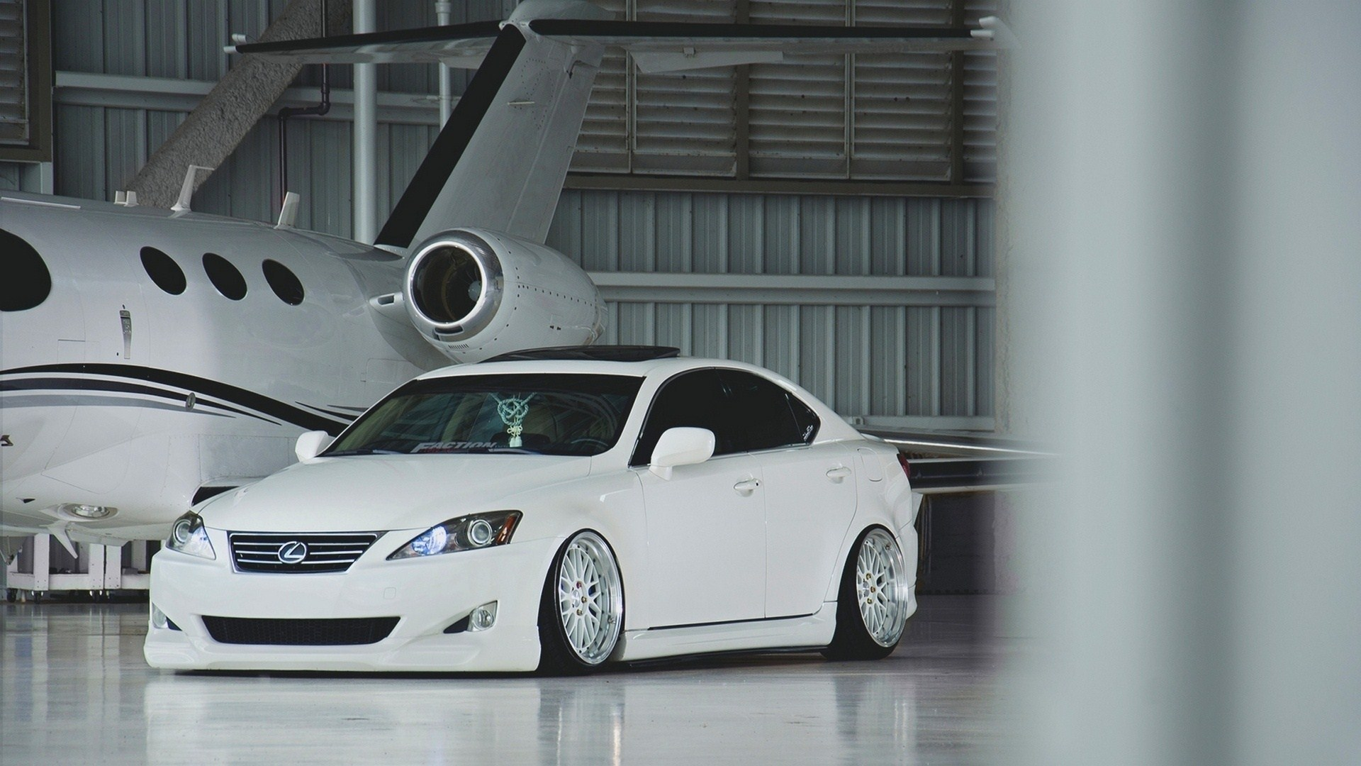 Lexus IS White Tuning Hangar