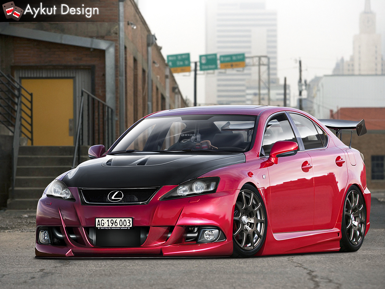 ... Lexus IS-F by aykutfiliz