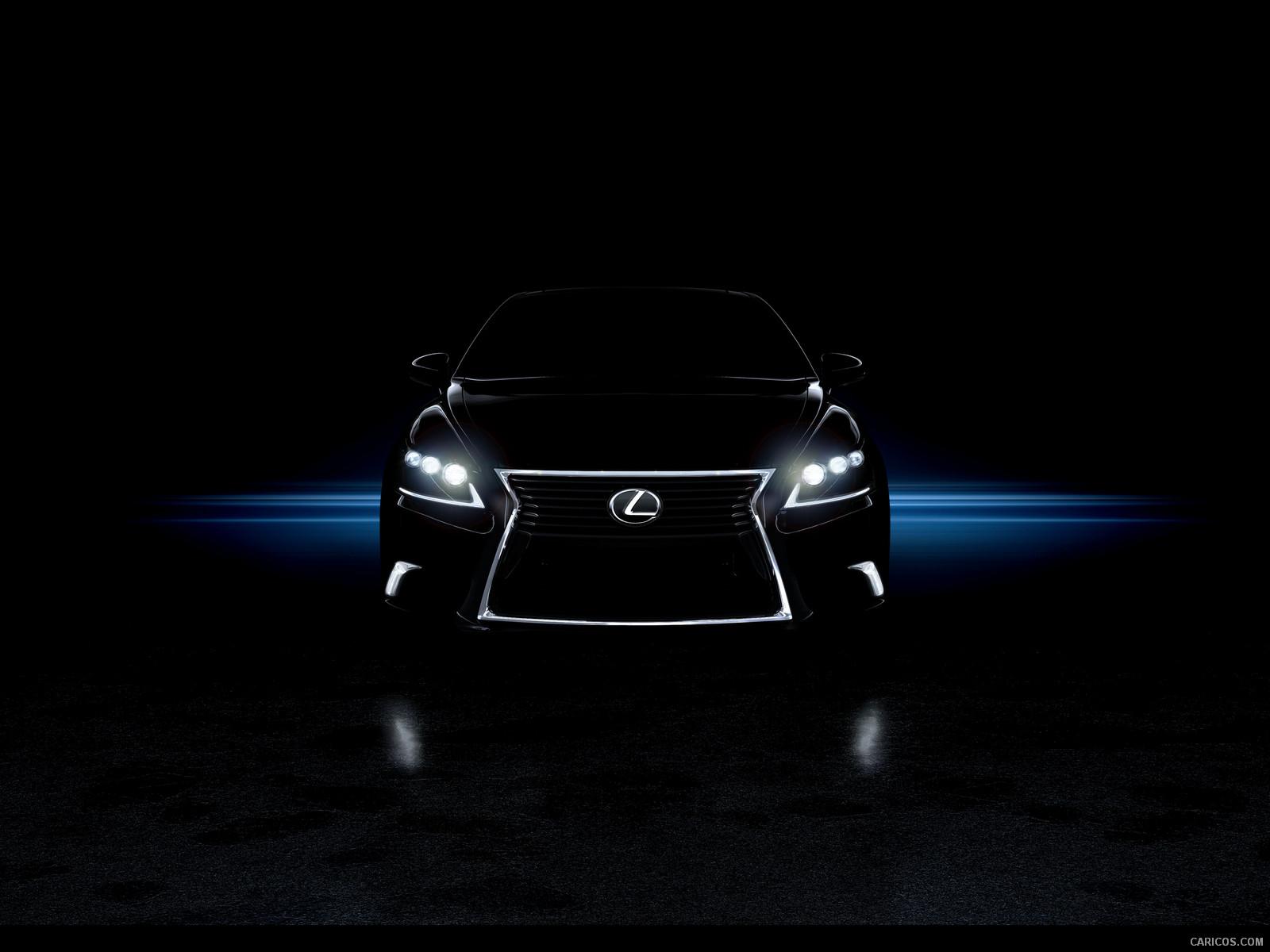 2013 Lexus LS 460 F SPORT - Front Wallpaper