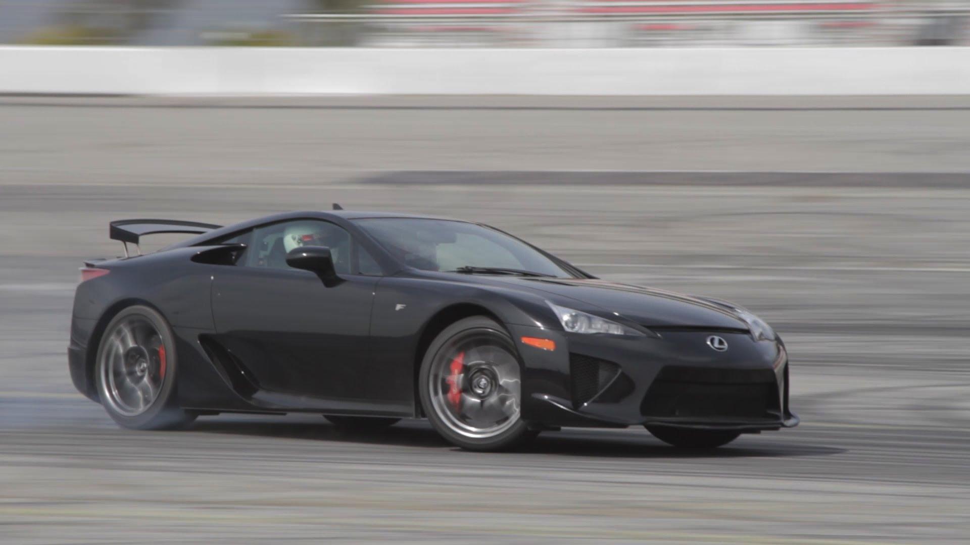 Lexus LFA Drifting Daijiro Yoshihara - BTS3 Bonus Episode