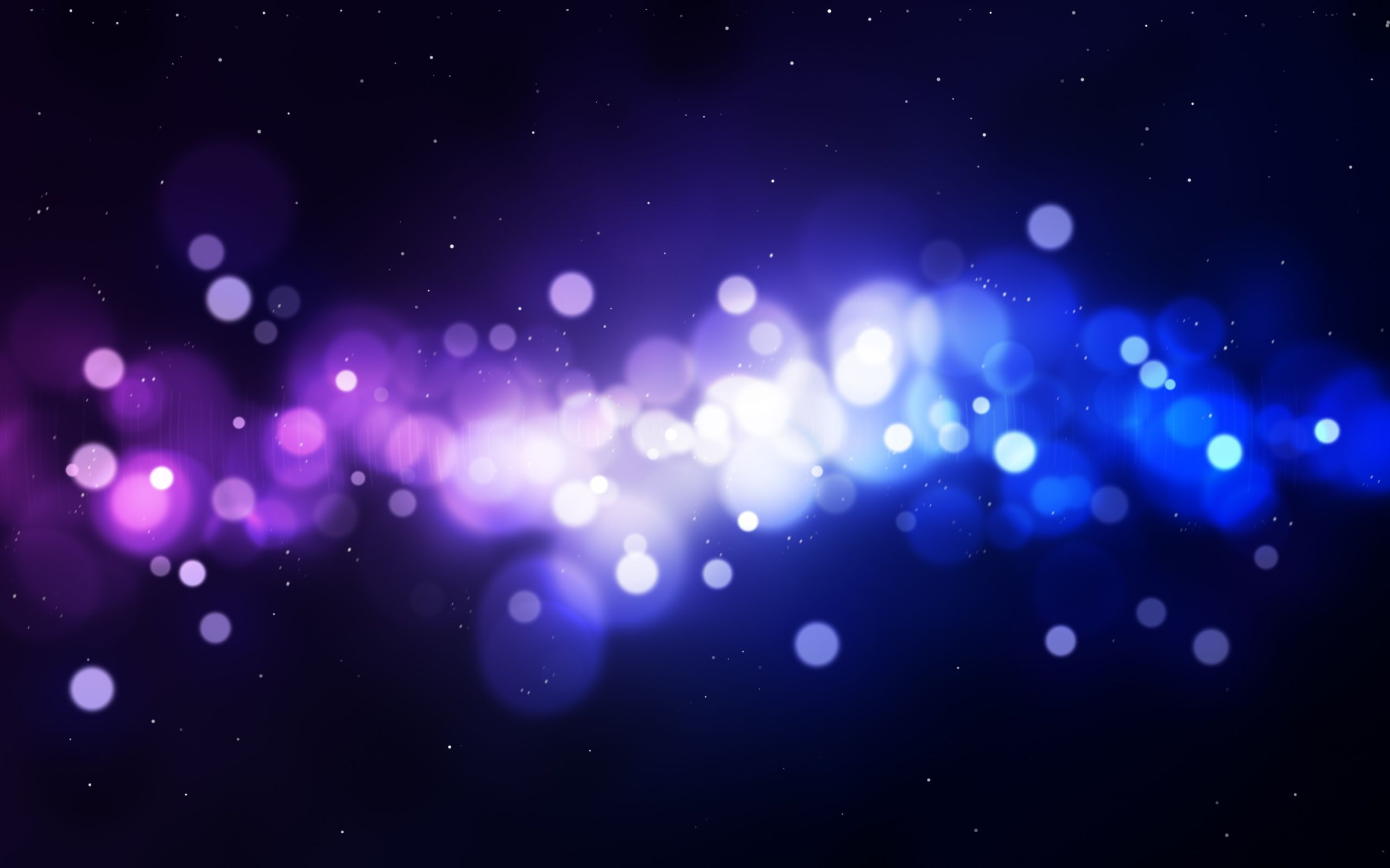 Blurry light circles wallpaper