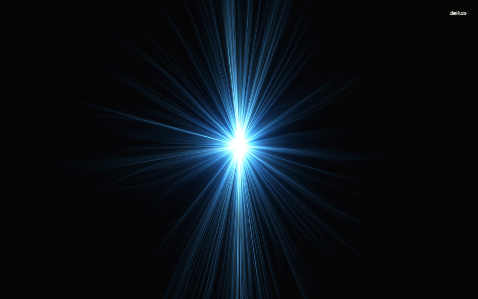 ... Blue Light Source wallpaper 1920x1200 ...