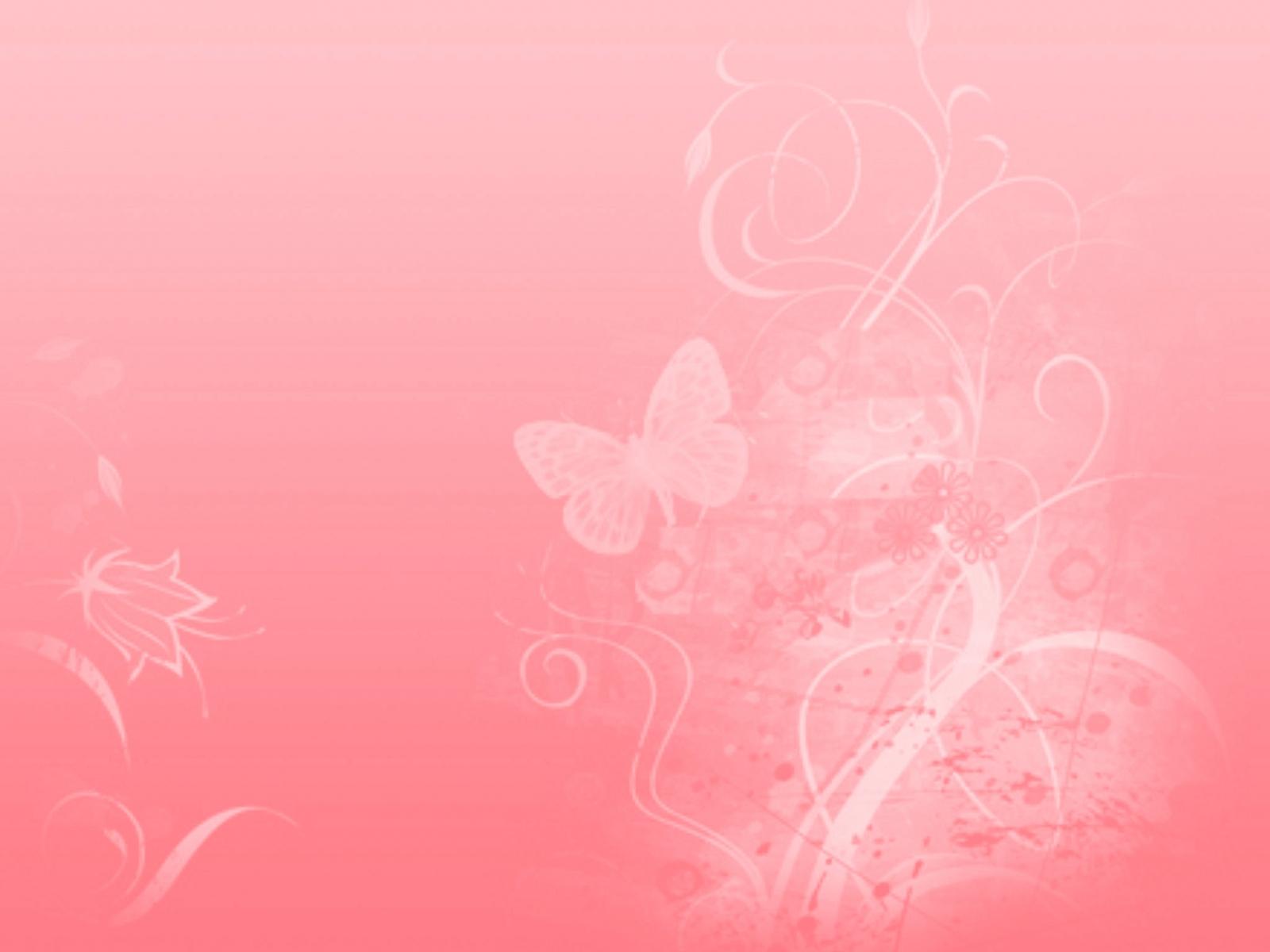 Pink Floral Desktop Wallpaper 1600x1200px