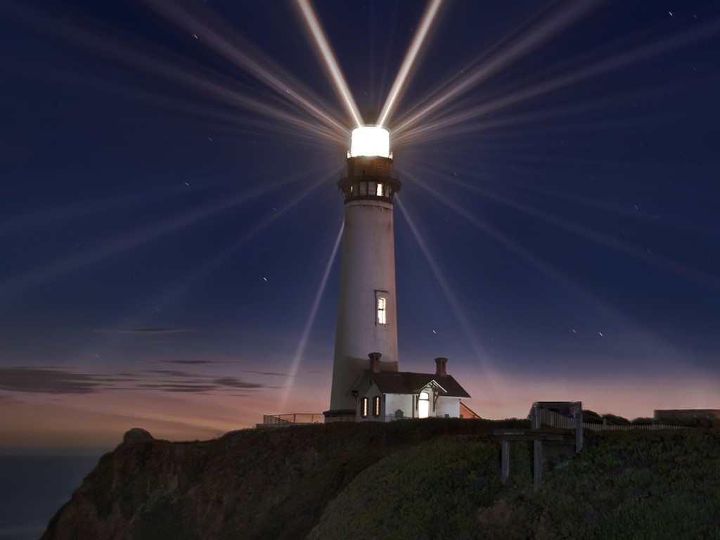 lighthouse. ""