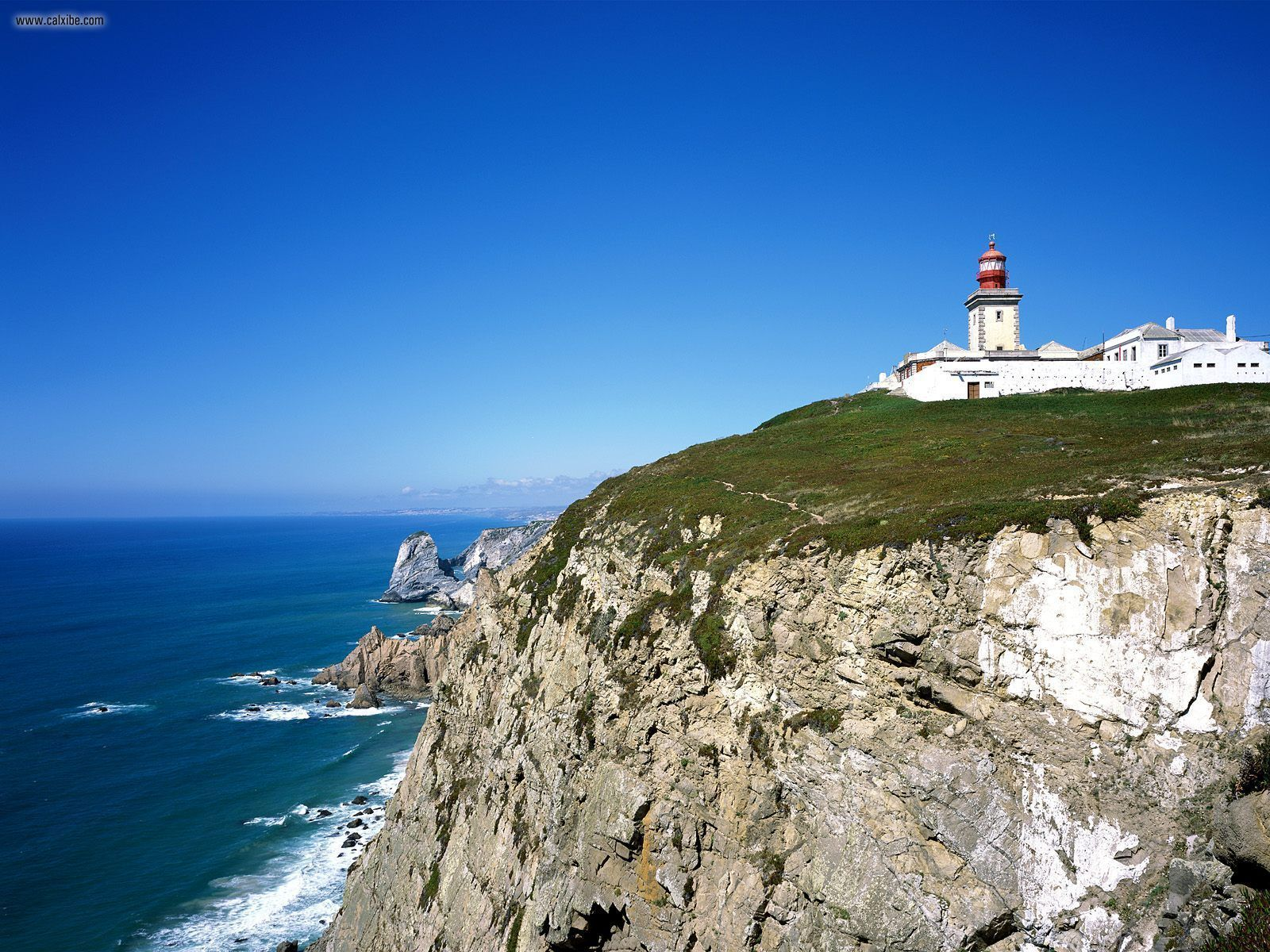 Cabo Da Roca Lighthouse Cabo Da Roca Portugal photos, wallpapers