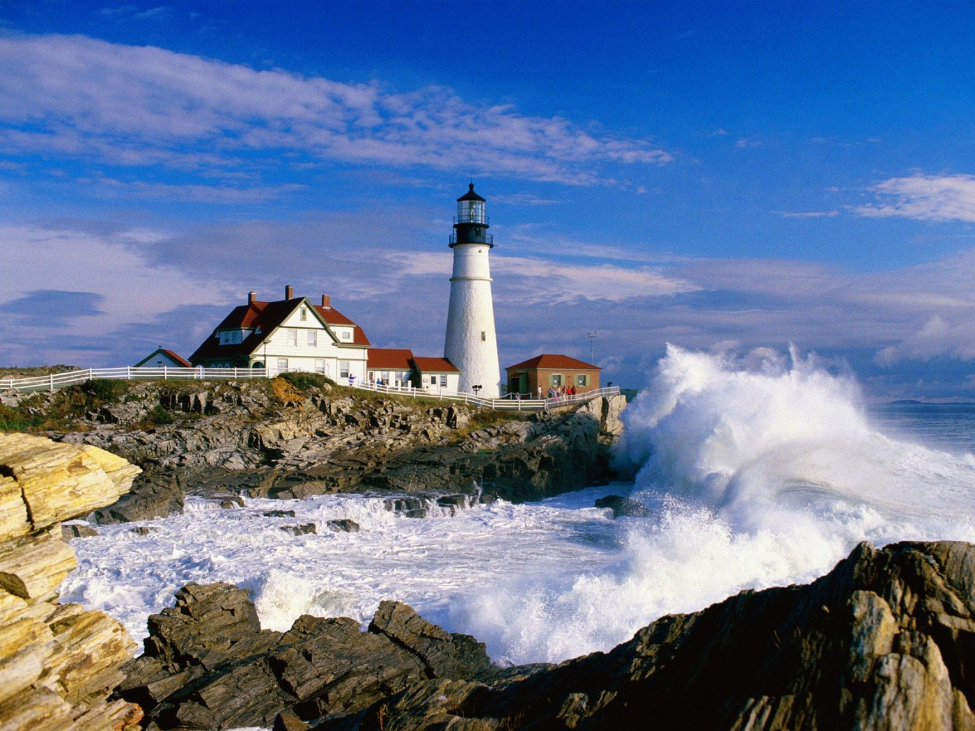 HD Wallpaper | Background ID:148139. 1400x1050 Man Made Lighthouse
