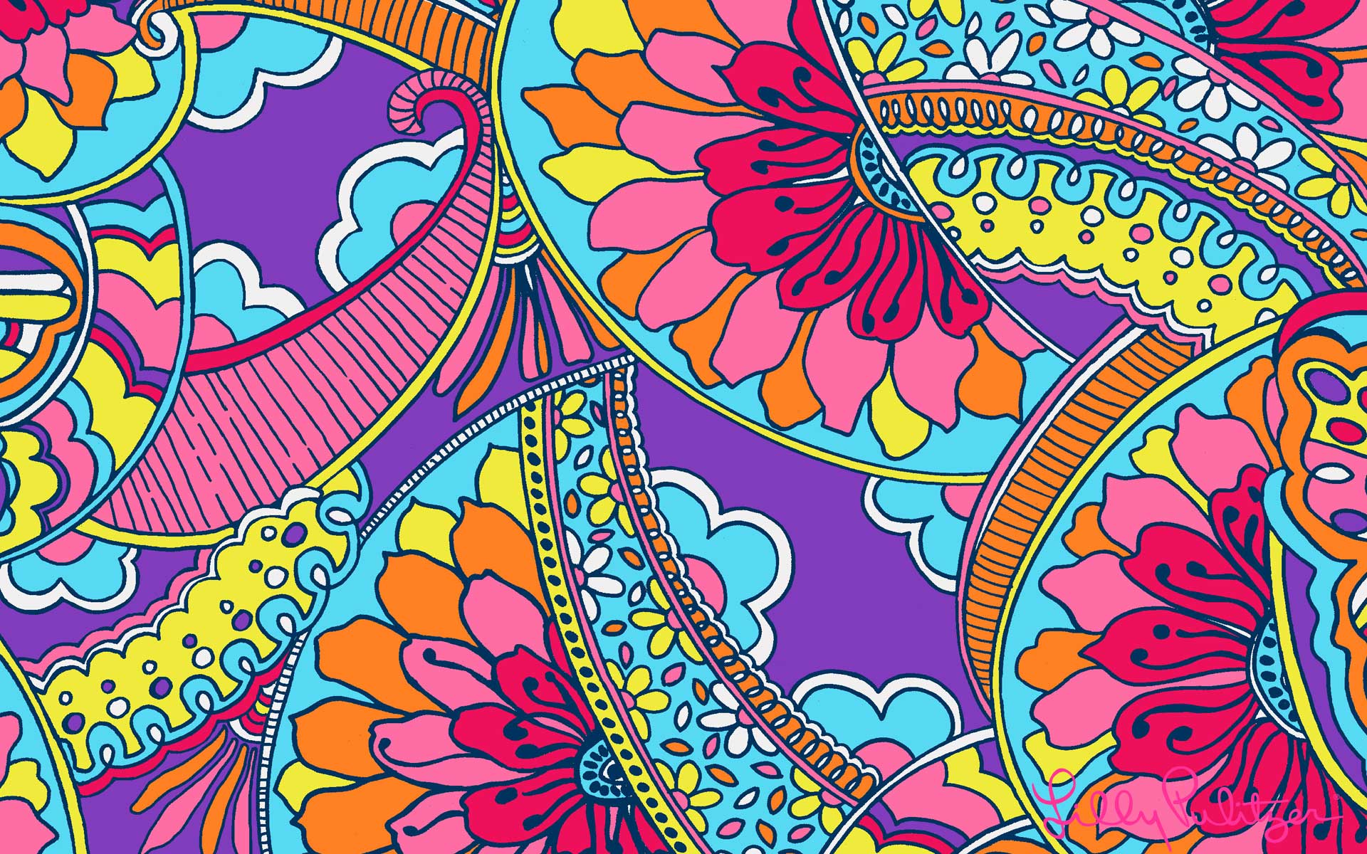 Colorful Desktop Lilly Pulitzer Wallpapers