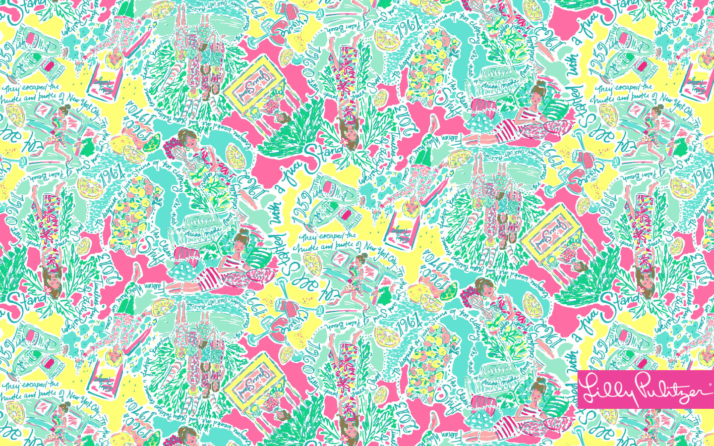 awesome lilly pulitzer wallpaper - photo #11