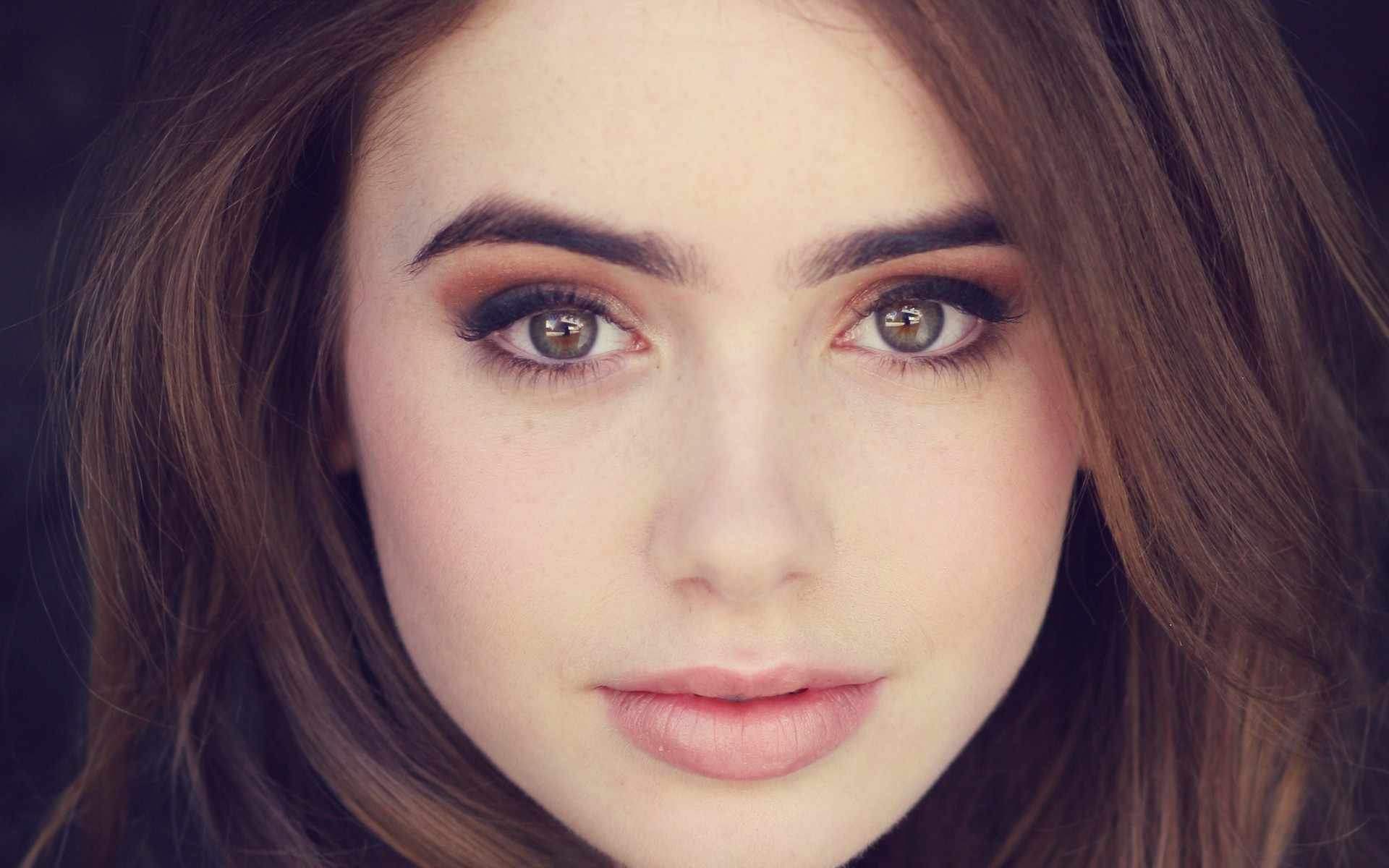 Lily Collins wallpaper for desktop
