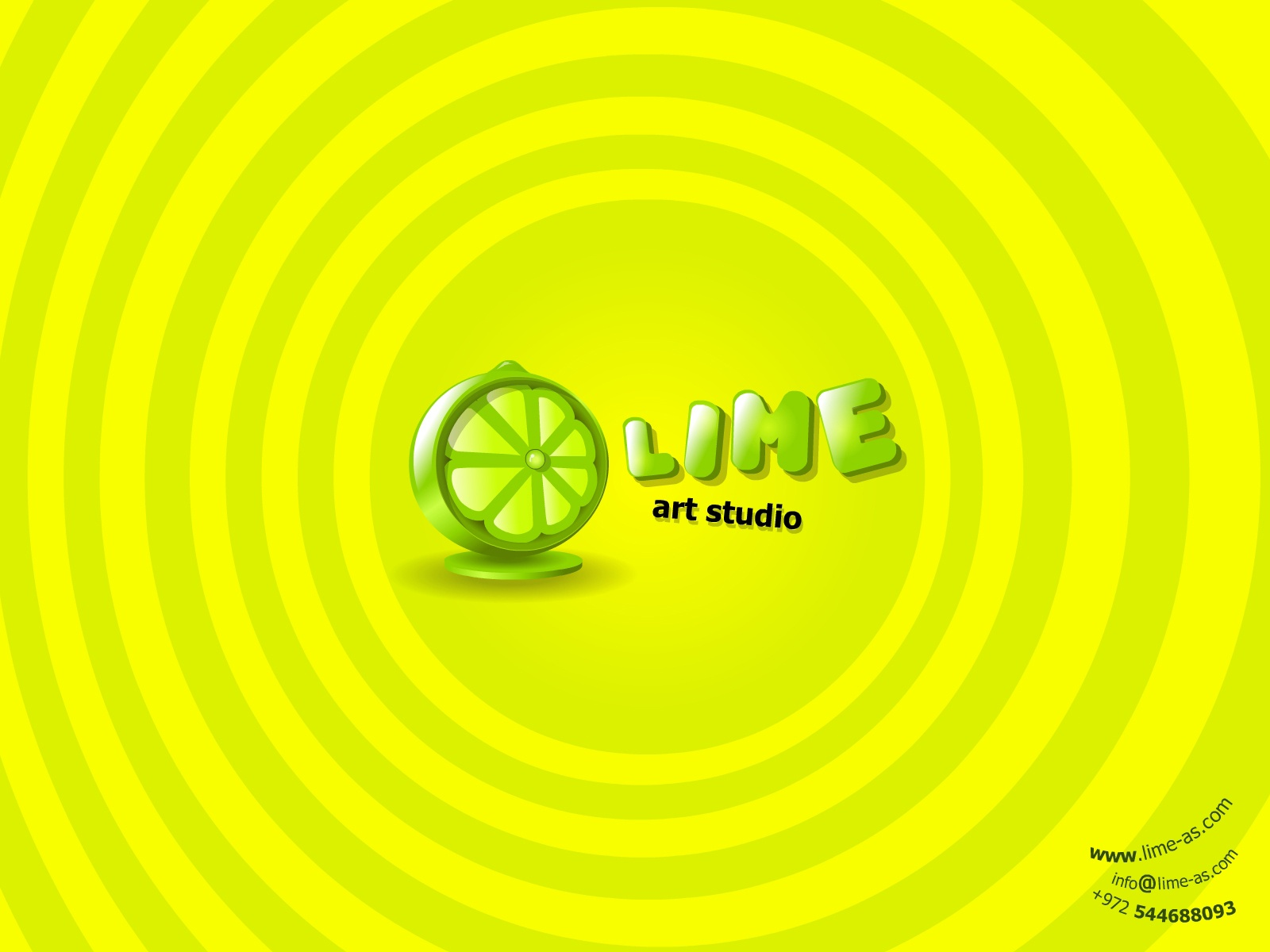 Lime Art Wallpaper